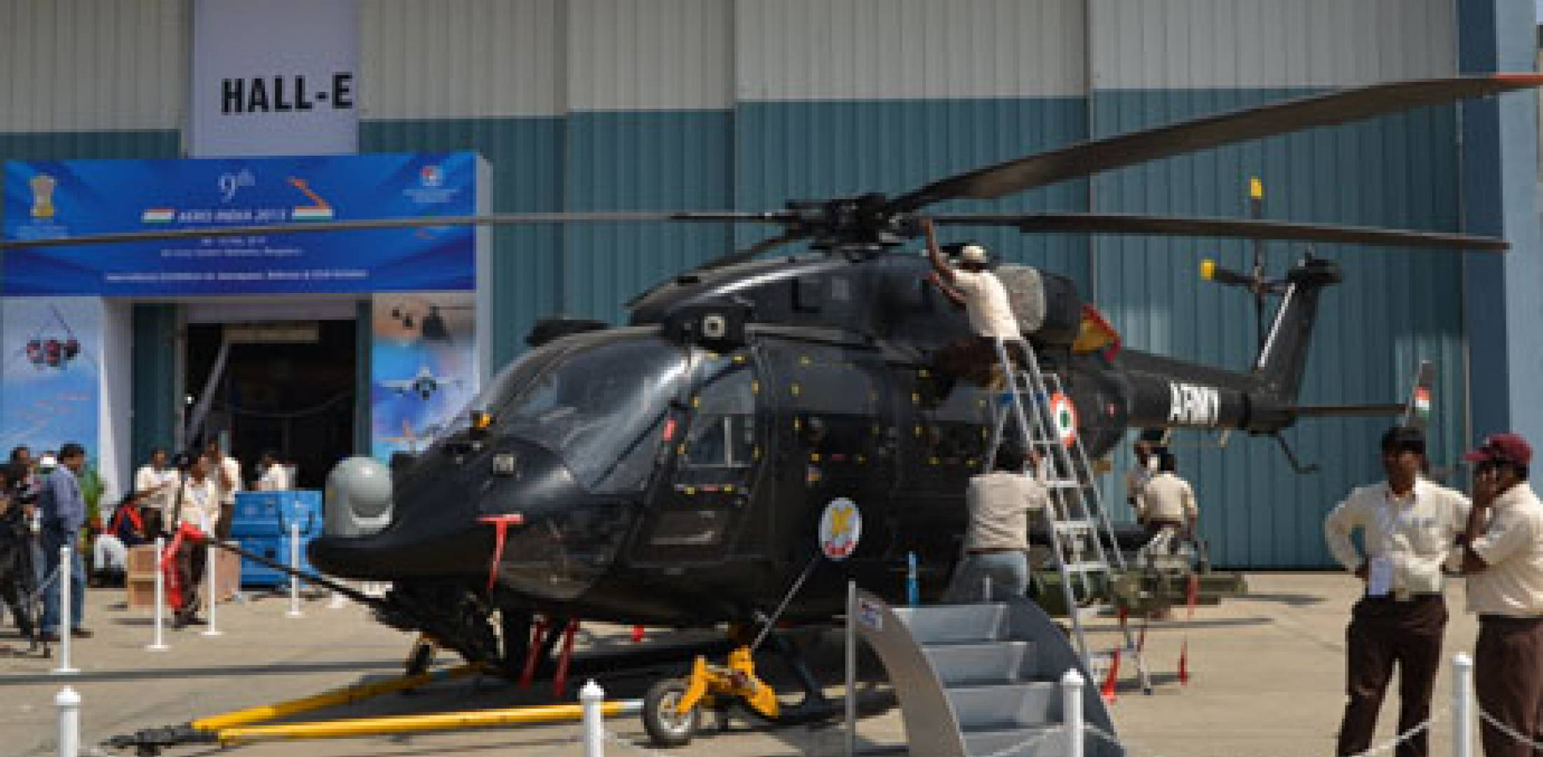 Hal S Rudra Heads Helicopter Showings At Aero India