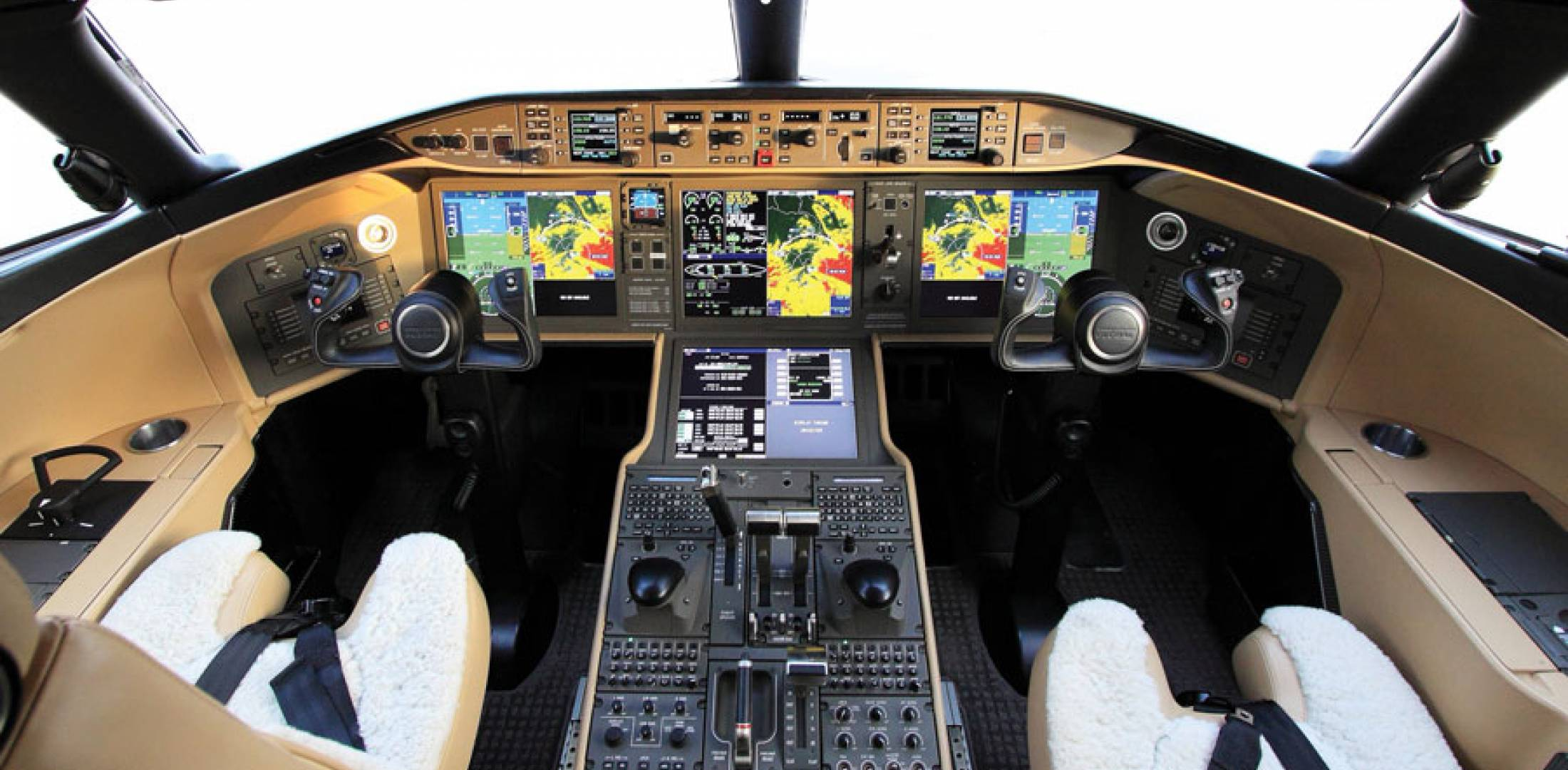 Bombardier's Global Vision flight deck