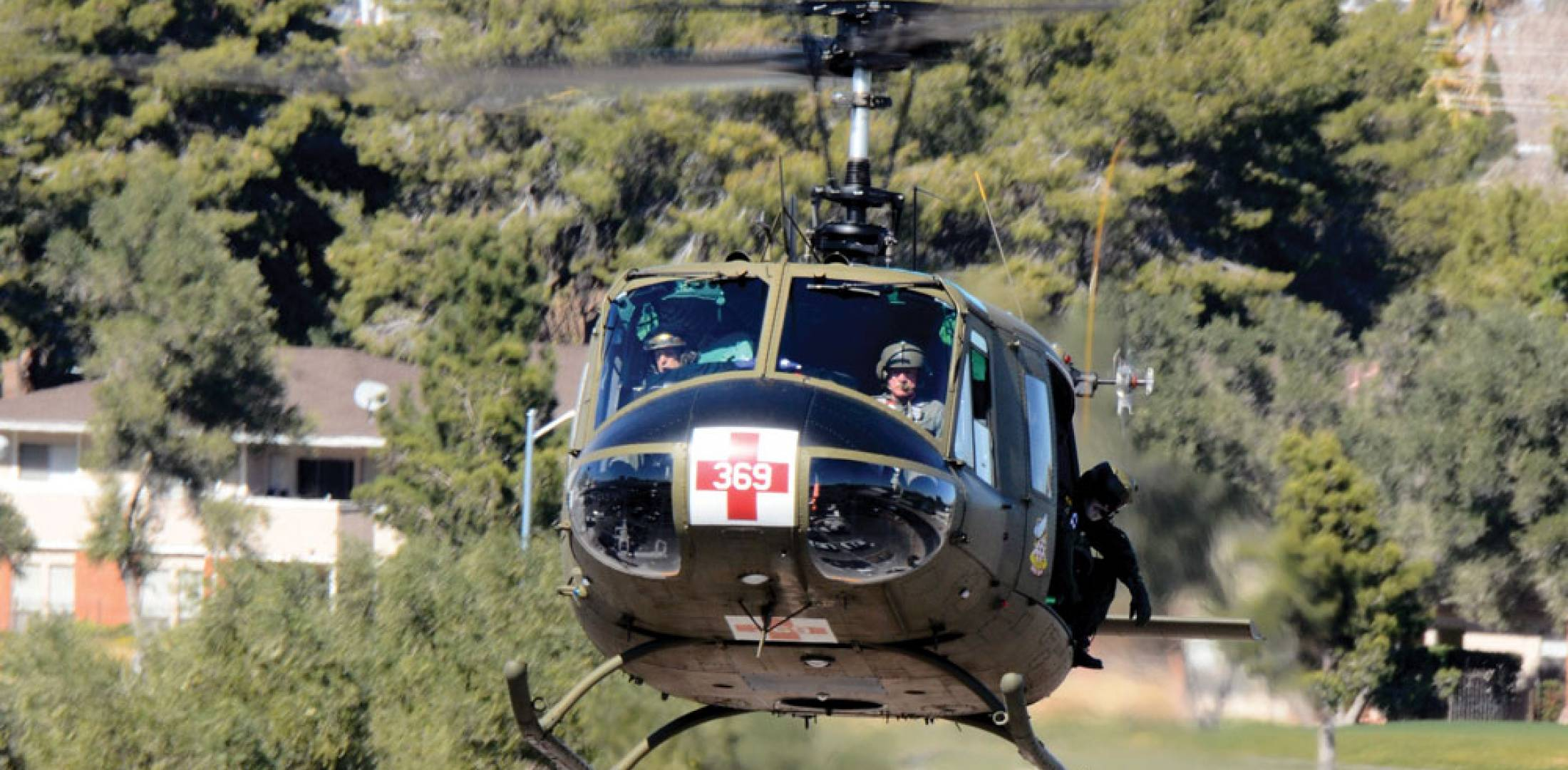 The UH-1Y utility helicopter is one of 100  upgraded Bell H-1s for the U.S. Marines Corps.
