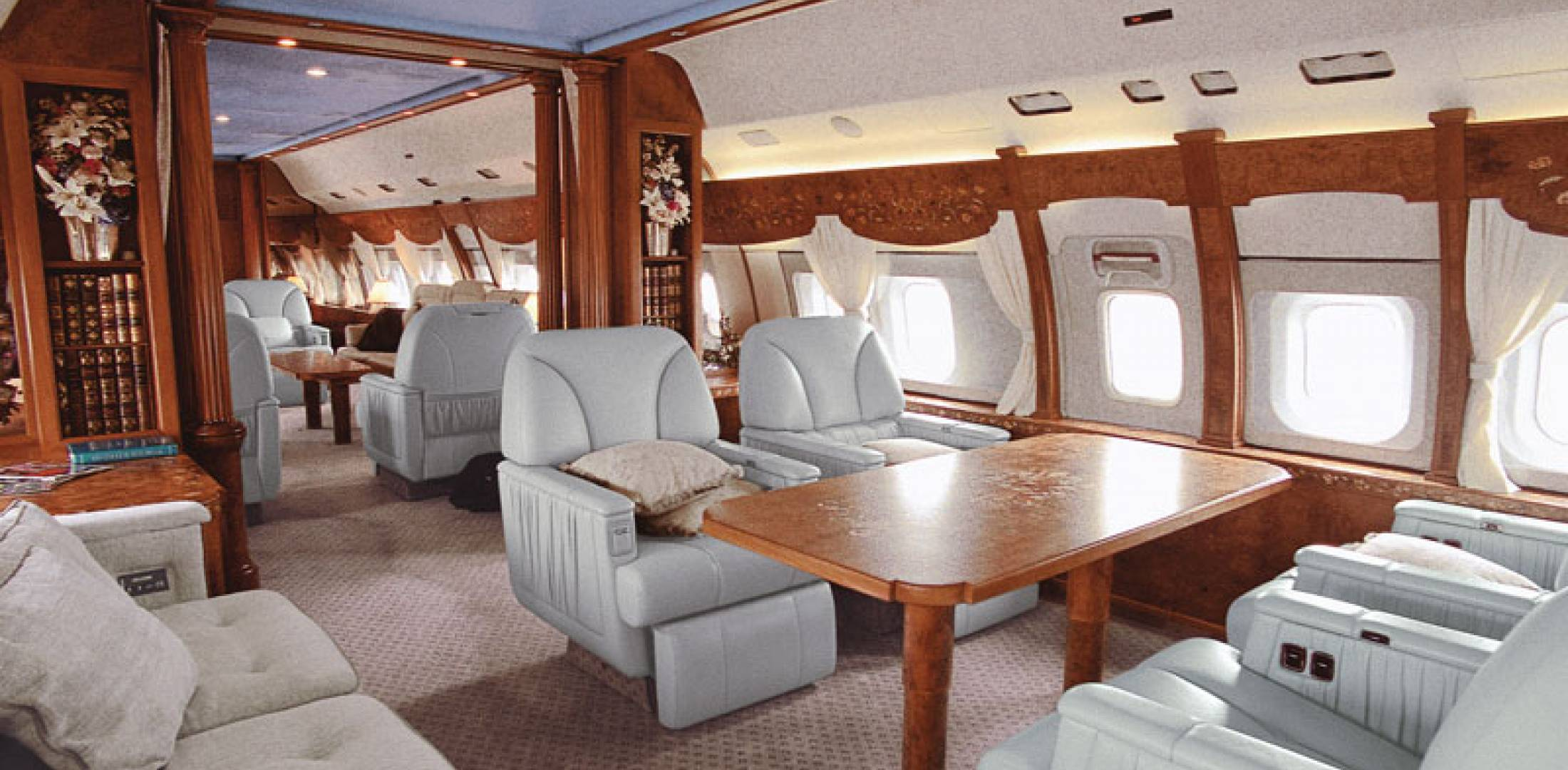 Boeing s super sized business jet family is getting larger for Large cabin business jets