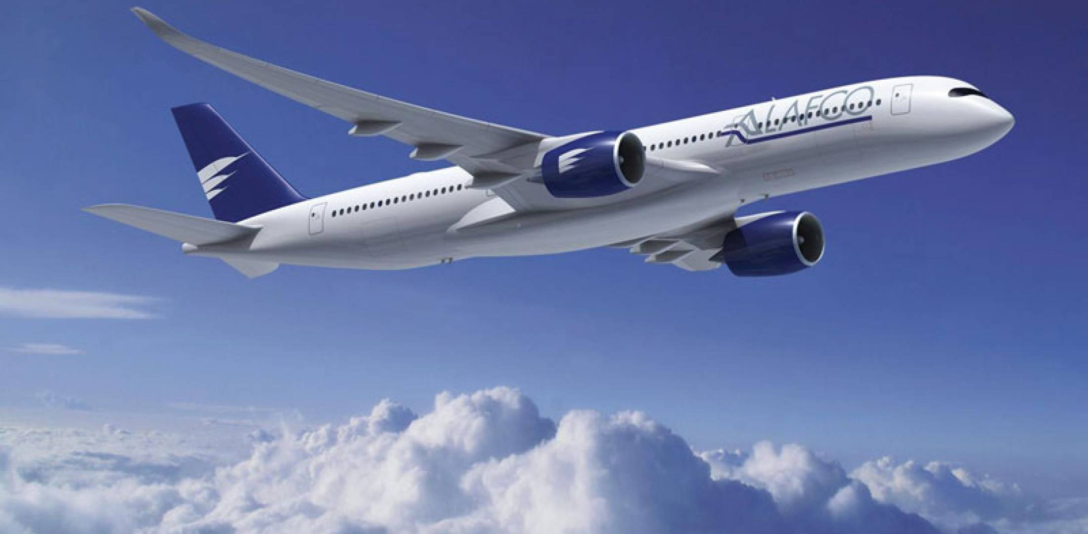 Airbus A350XWB has been ordered by Kuwait's Alafco leasing group