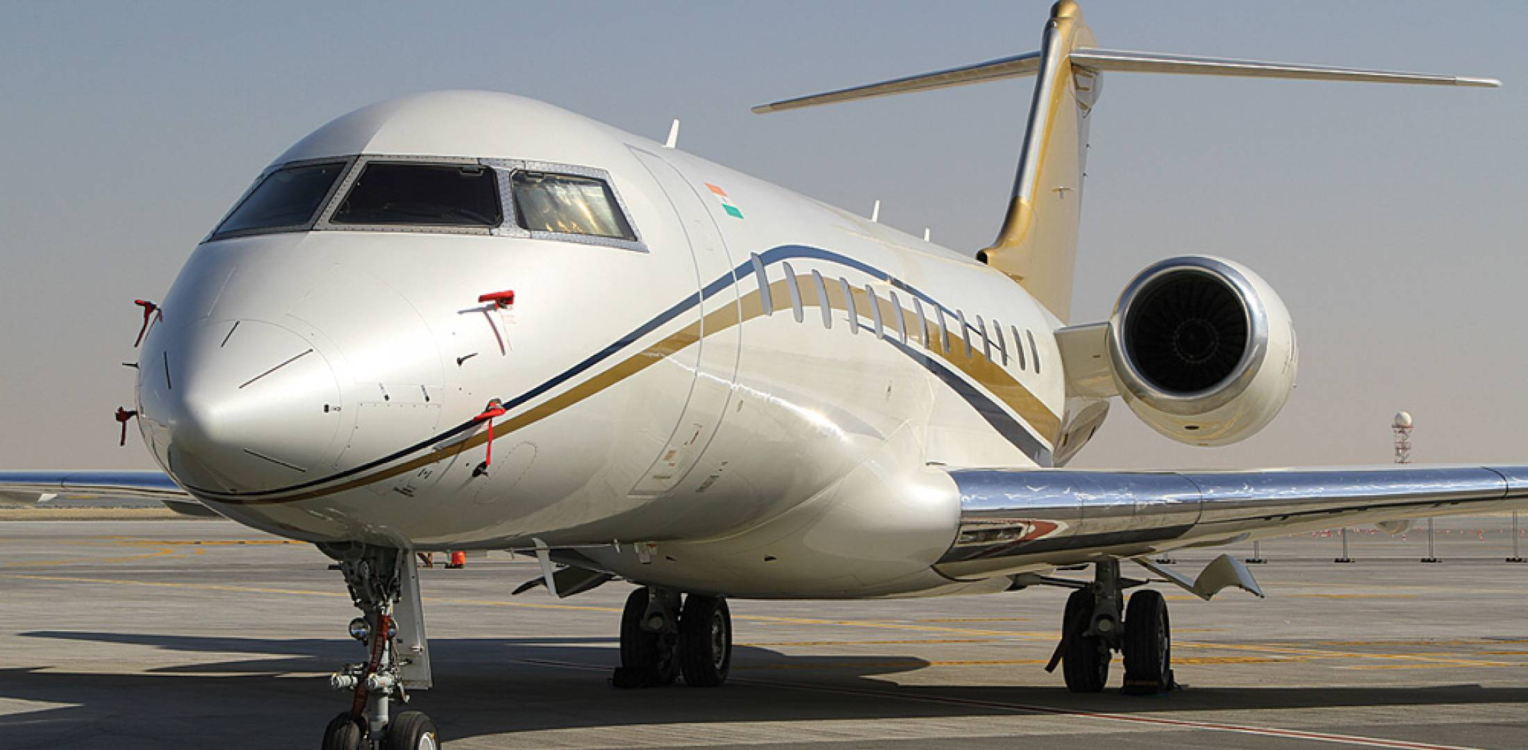 Bombardier can support its family of aircraft, including this Global Express, supplying parts from its new depot in the Jebel Ali Free Trade Zone to operators in the Middle East, Africa and Europe.