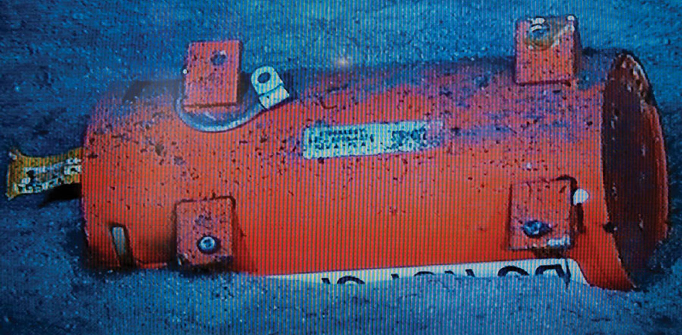 Flight 447 flight data recorder