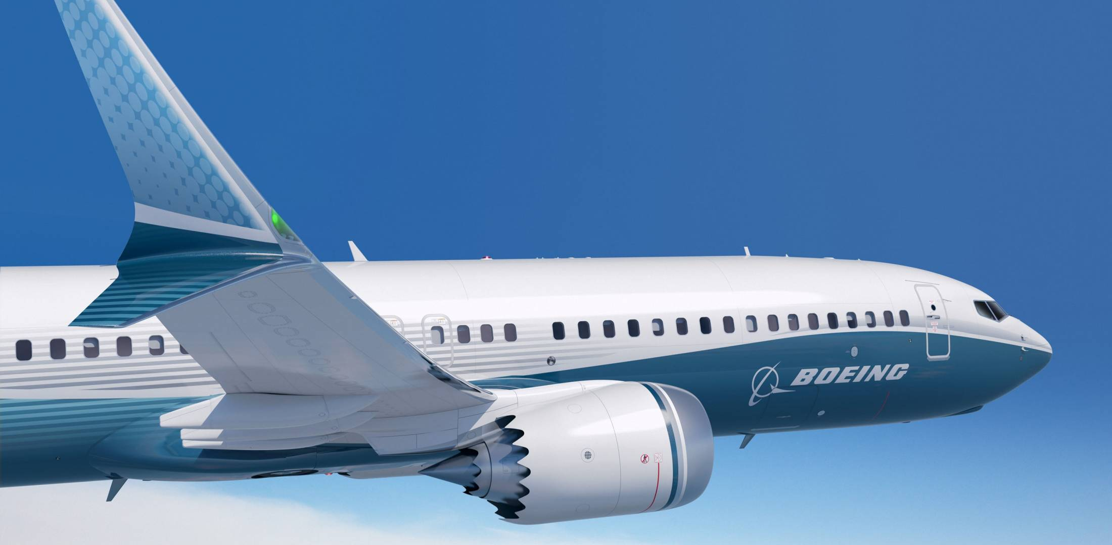 Boeing's new winglet design for the 737 Max