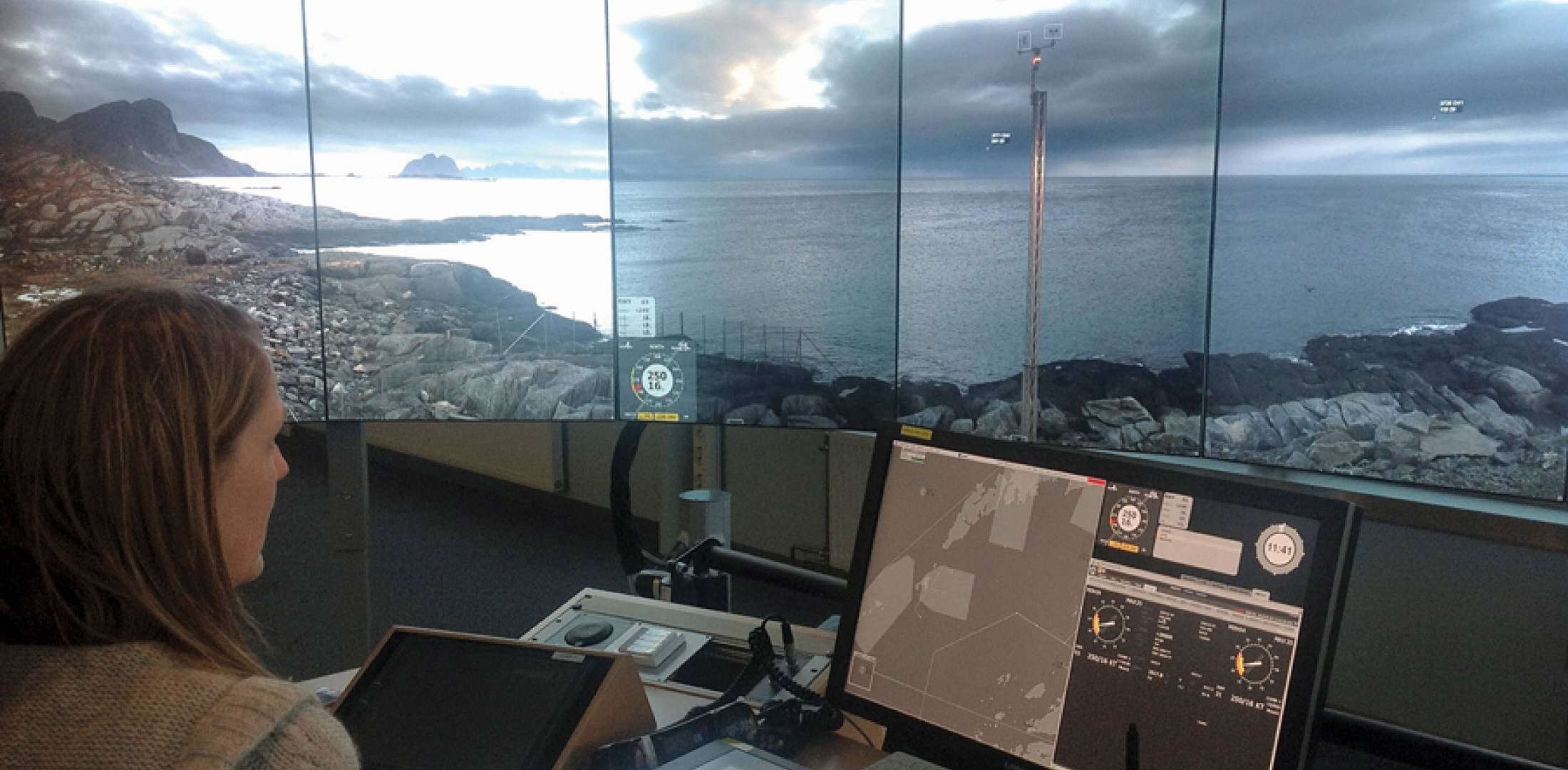Saab remote tower in Bodo, Norway.