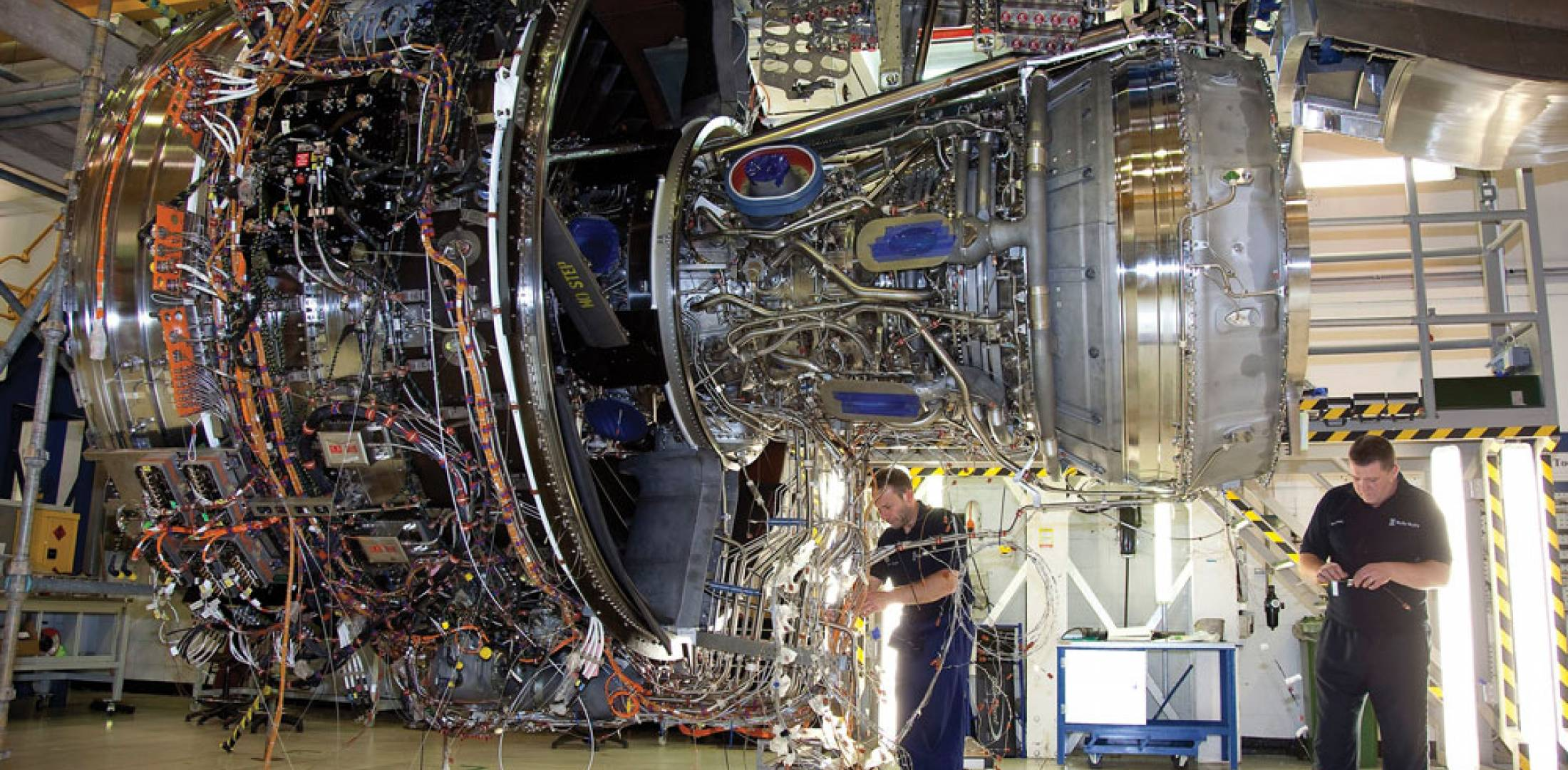 Following manufacture of 12 development Trent XWBs, Rolls-Royce had built at least six preproduction units for the Airbus A350 by the beginning of June.