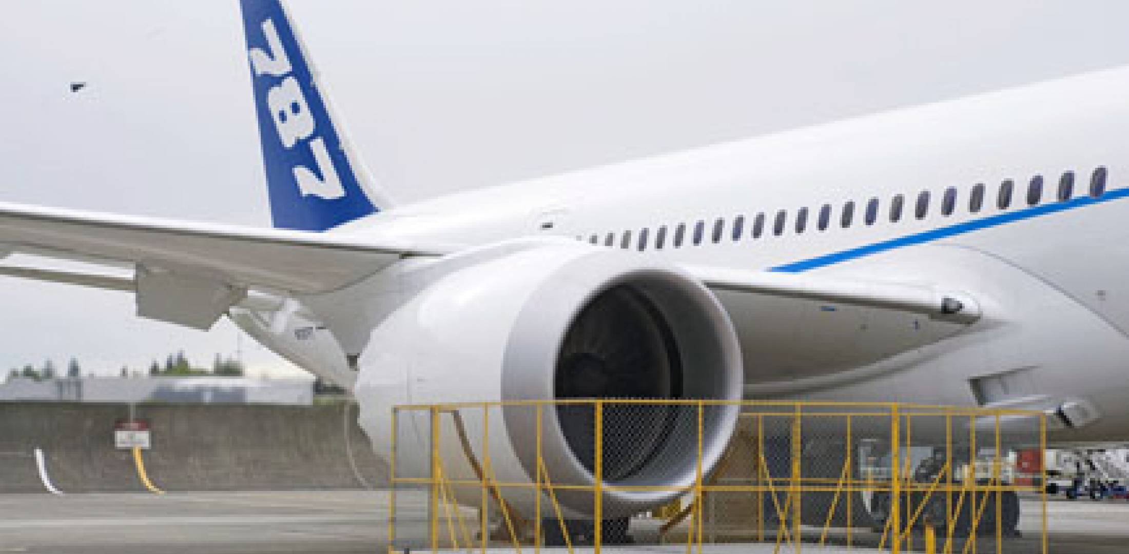 GEnx-1B turbofans power the fifth 787 prototype. Boeing has advertised a stan...