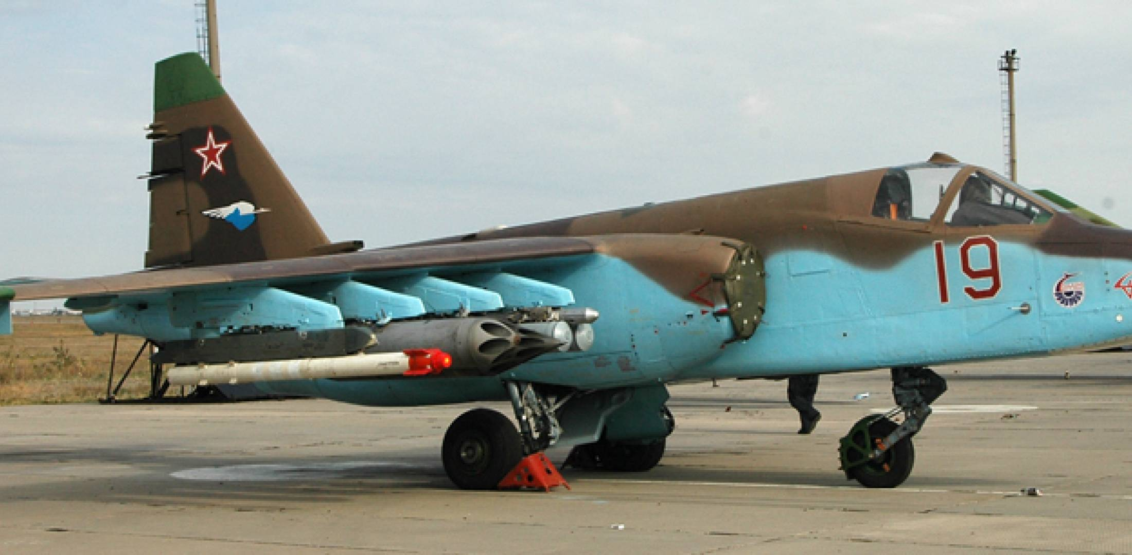 The Russian air force has plans to upgrade all of its Sukhoi Su-25 fleet–now