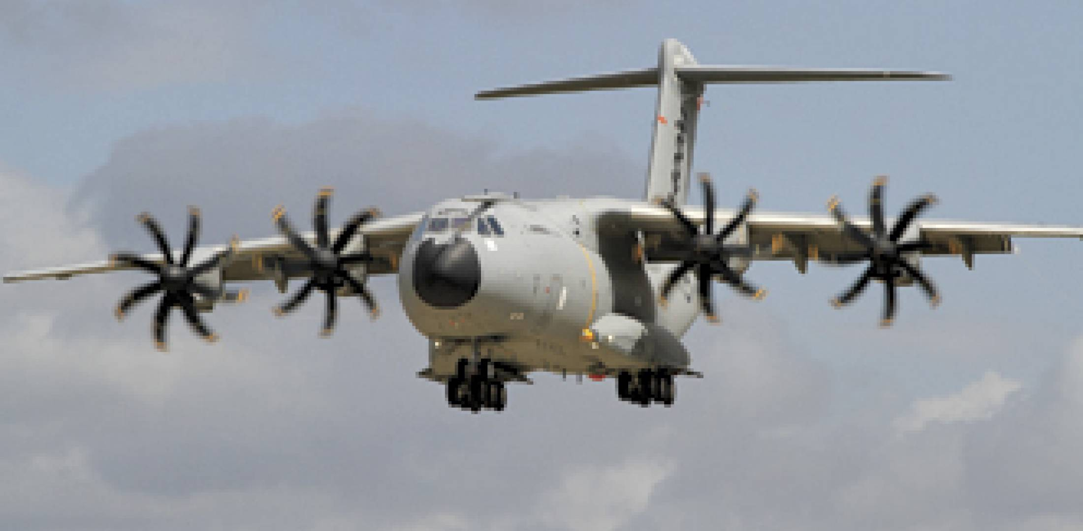 The A400M is in a three-way squeeze to join the UK's airlift fleet....