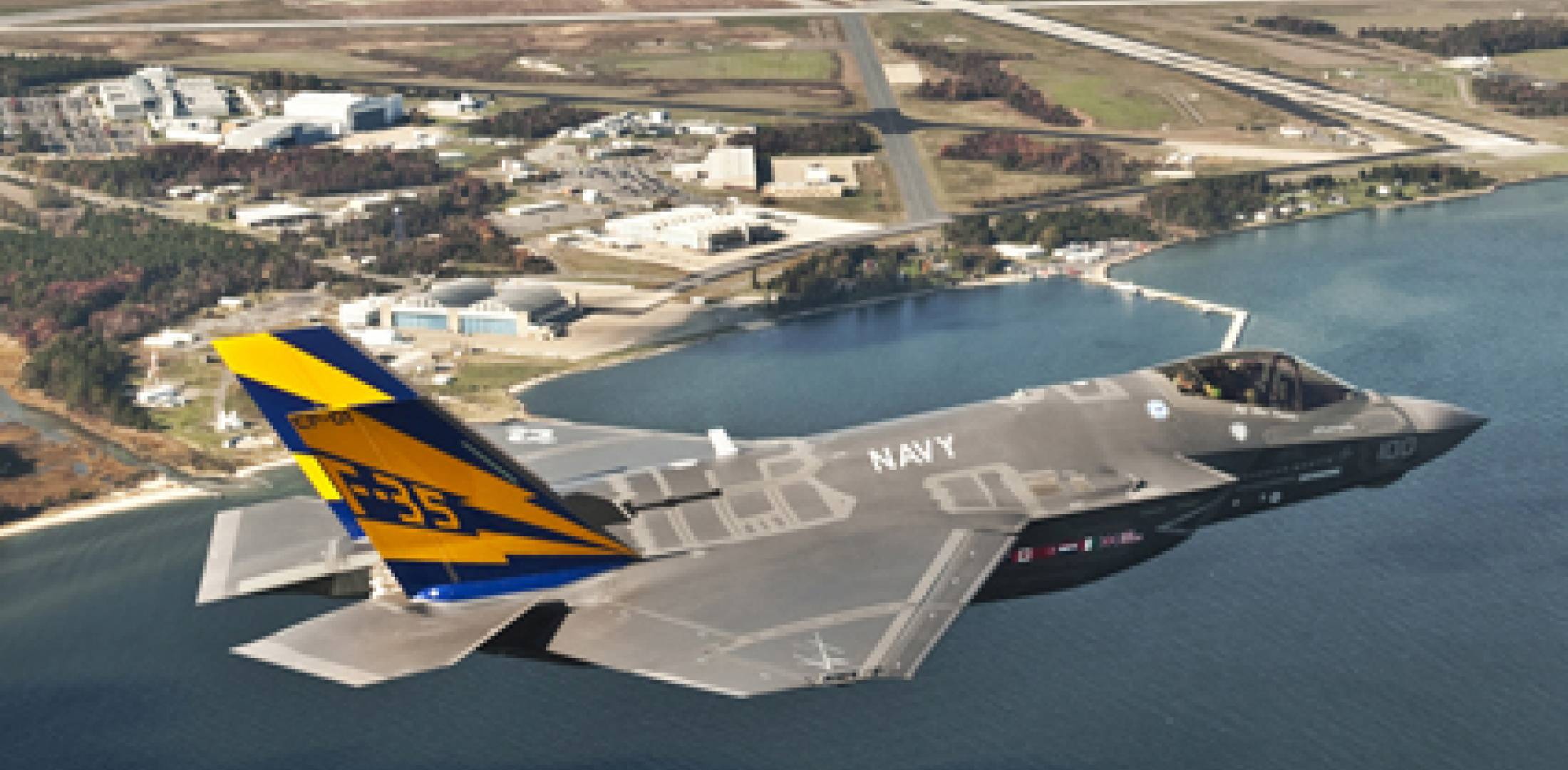 On November 6 the first F-35C arrived at Patuxent River for naval trials. (U....