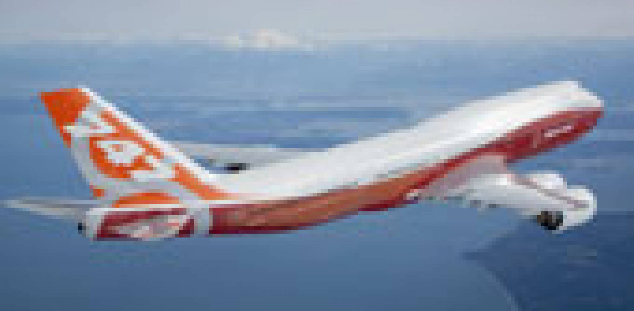 Boeing 747-8I RC001 recently completed a series of tests to validate airframe...