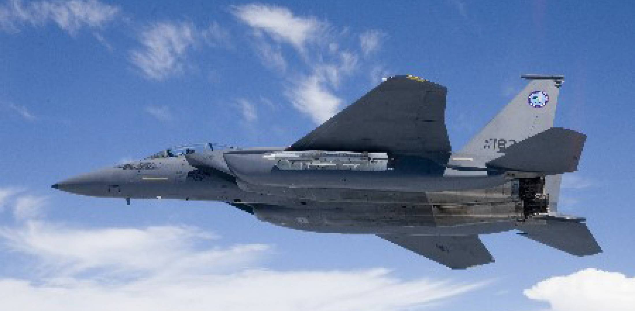 The Silent Eagle testbed is a modified F-15E (the original prototype). On its...