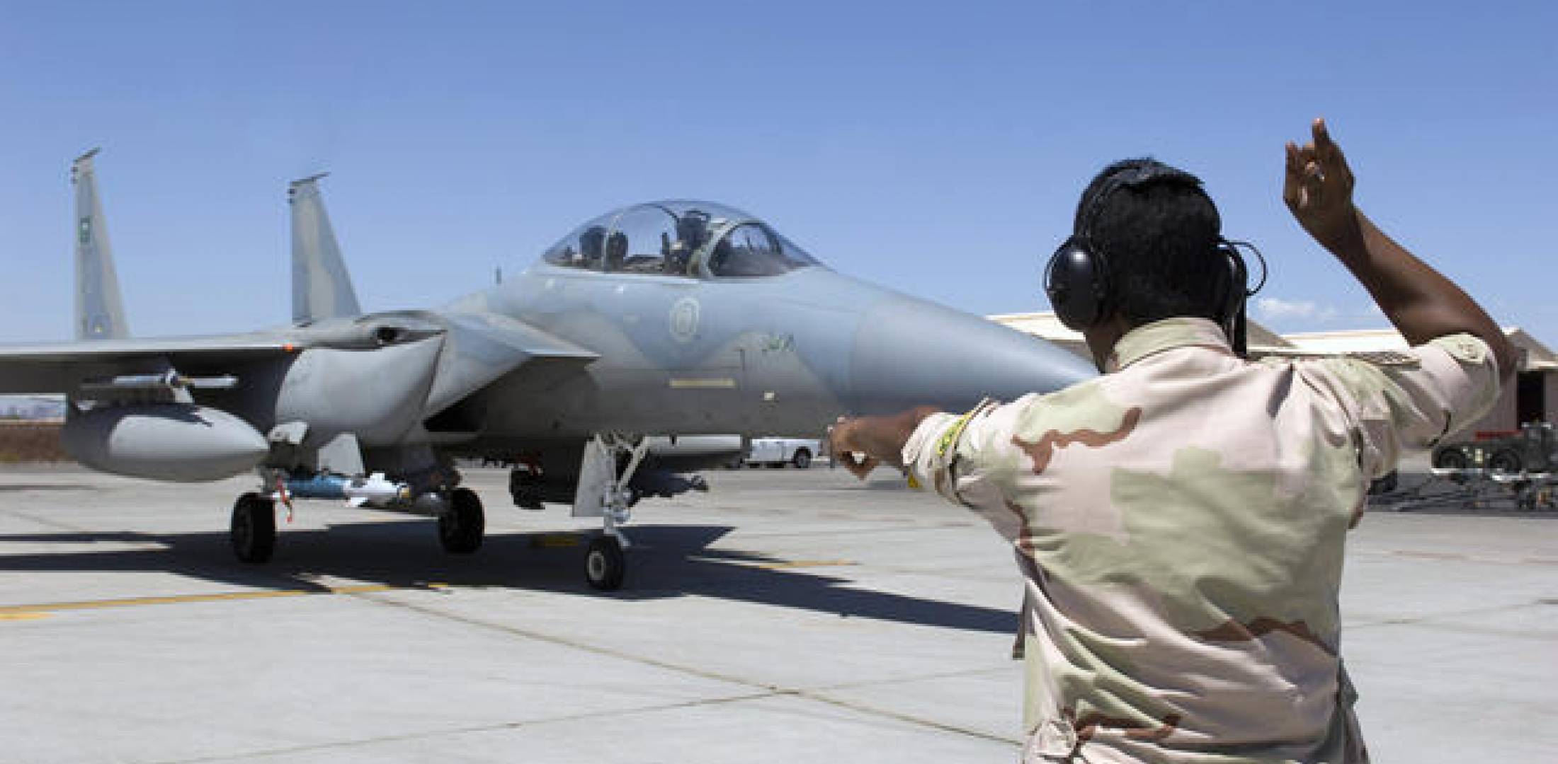 If the notified sale goes ahead Saudi Arabia will have 154 F-15SA Eagles, inc...
