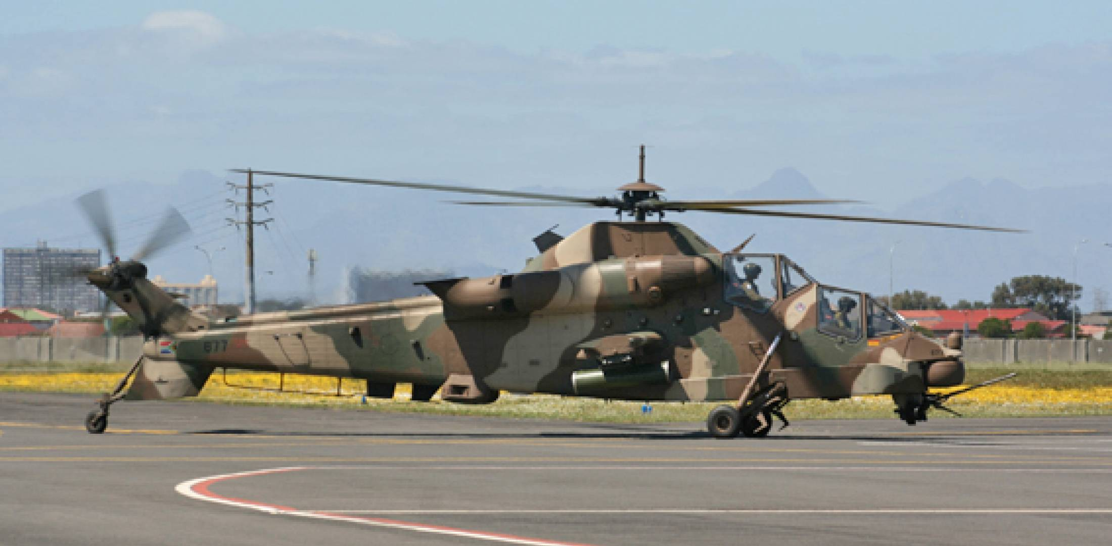 The South African Air Force last week took delivery of its first fully upgrad...