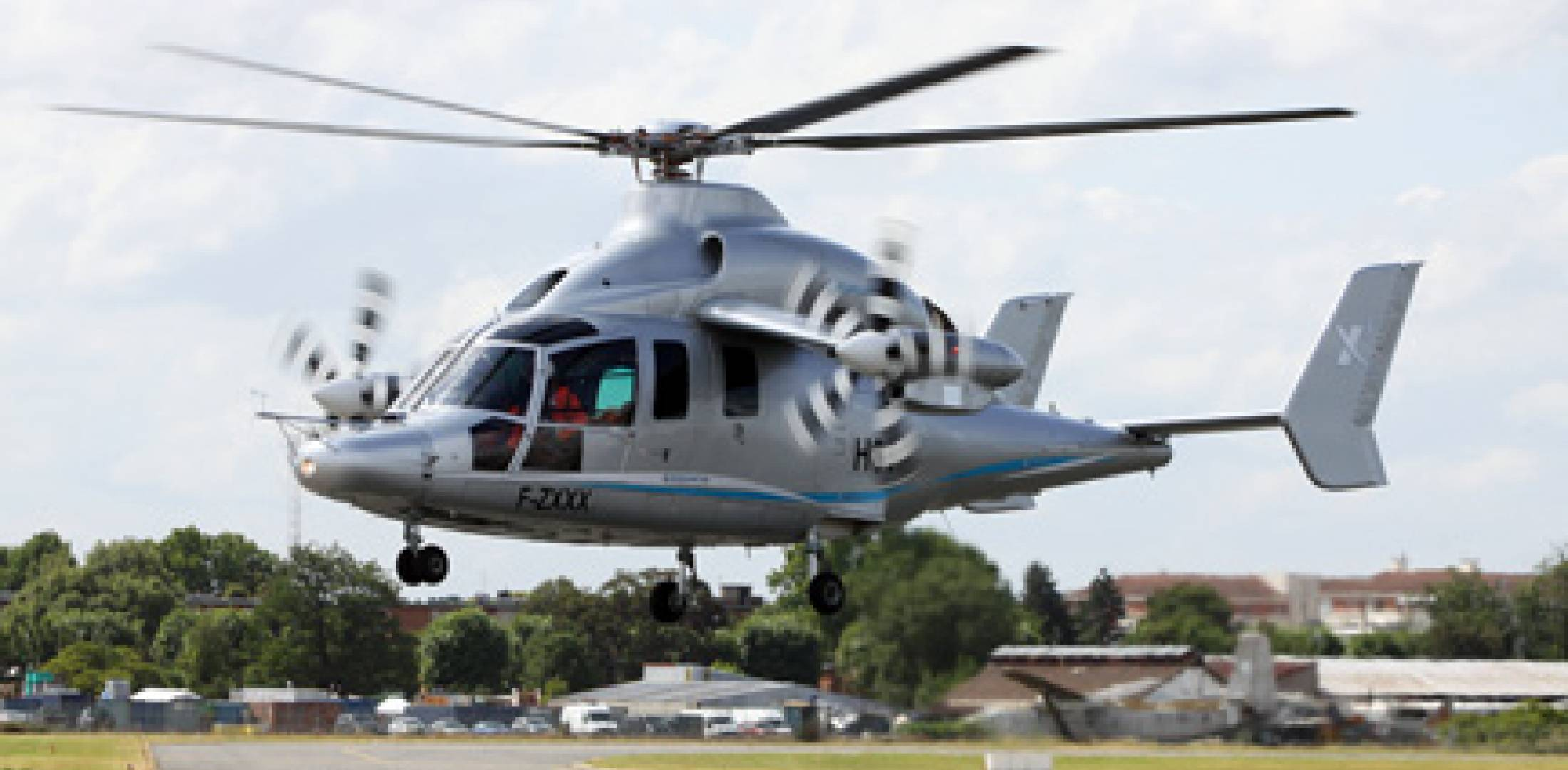 With its X3 demonstrator, Eurocopter reached 232 knots but is targeting 220 k...
