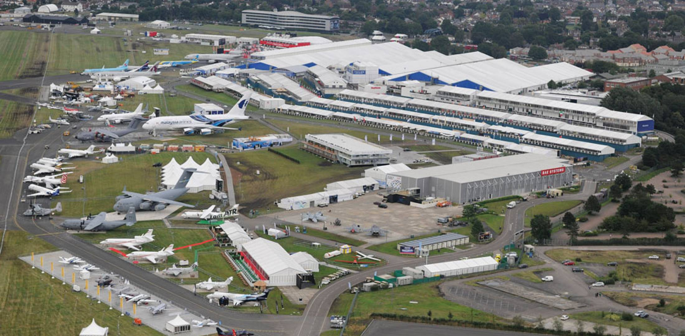 Farnborough show site
