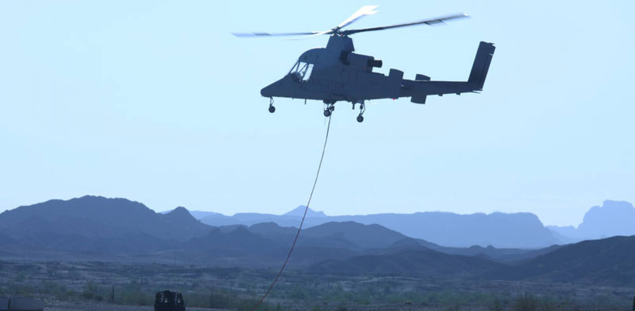 Unmanned K-Max helicopter