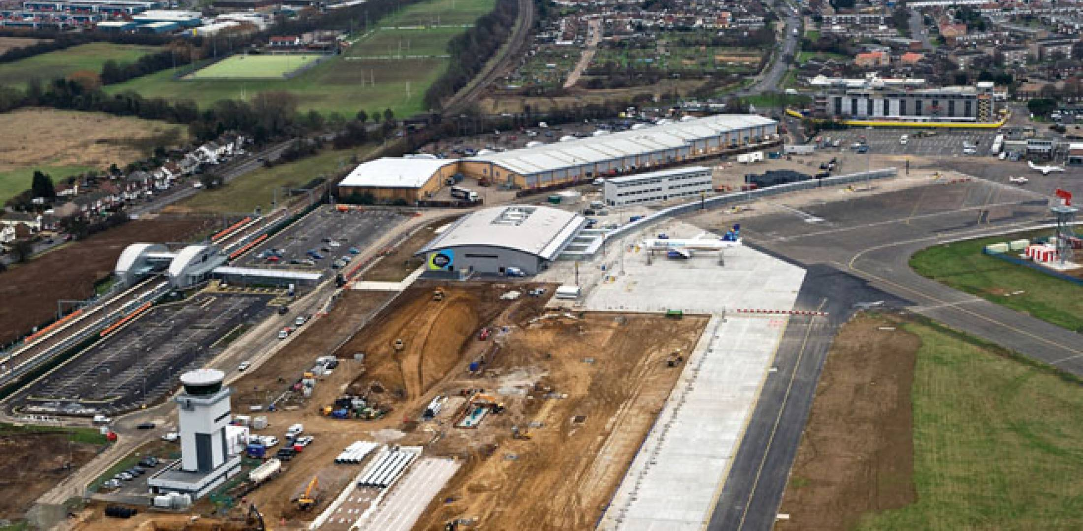 London Southend Airport recently completed infrastructure upgrades and stands ready to accommodate the influx of traffic to the London area for the Olympics.