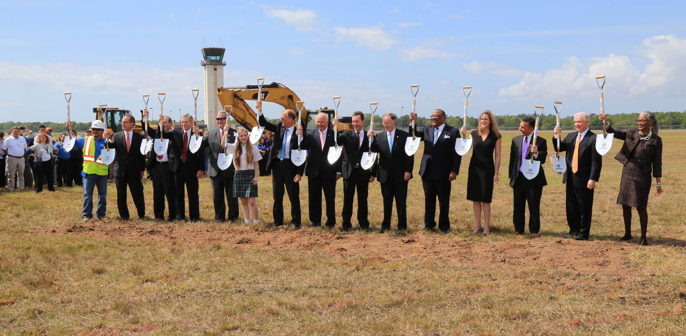 Airbus breaks ground on new assembly line in Mobile, Ala.