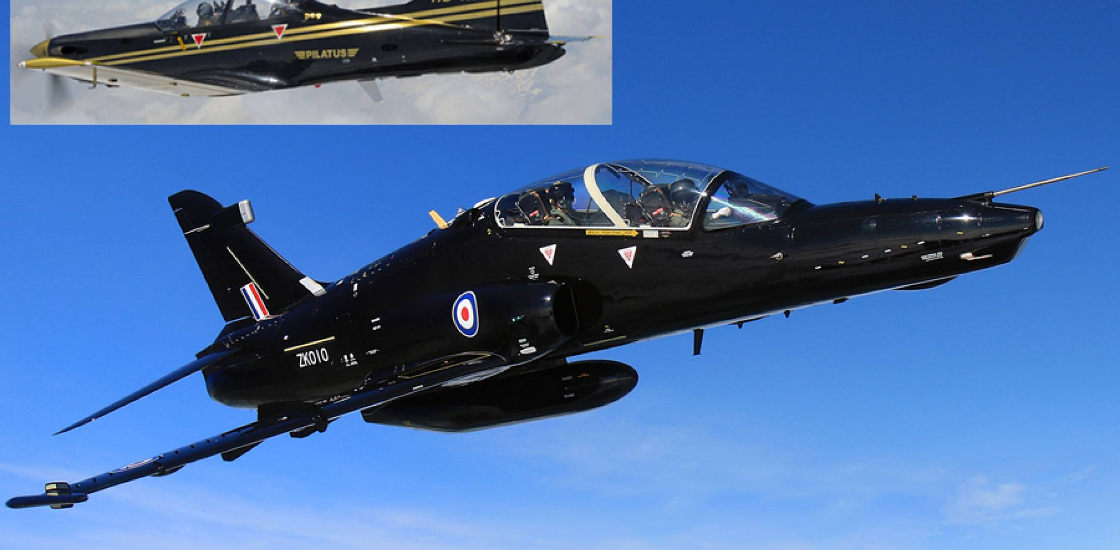 BAE Hawk AJT and see my email re PC-9