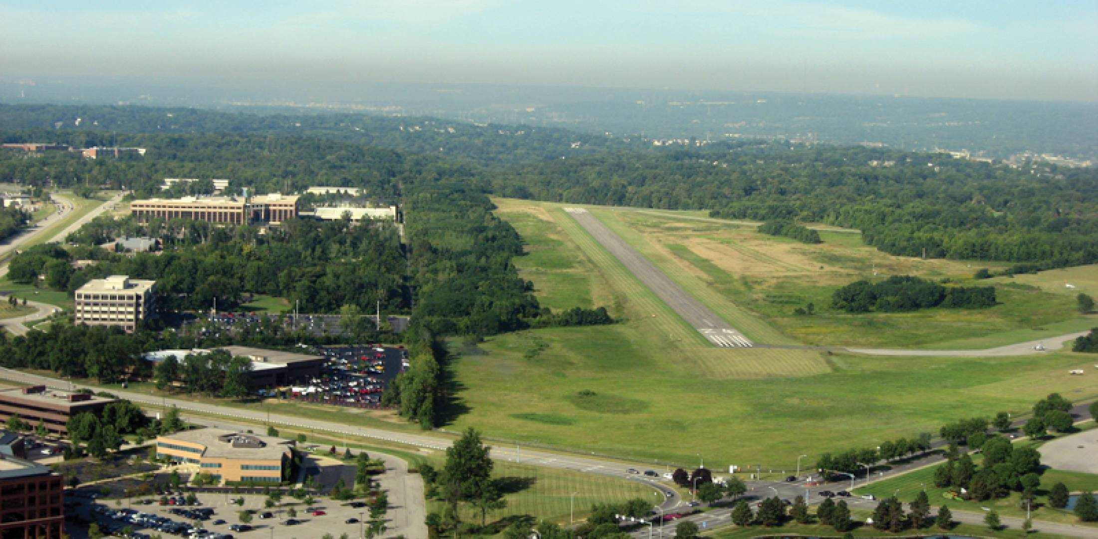 Cincinnati's Blue Ash Airport.