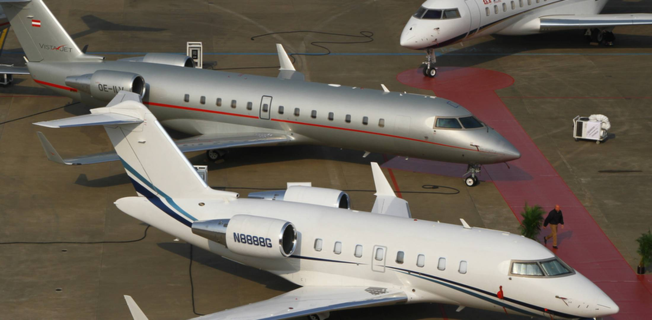 Bombardier business jets