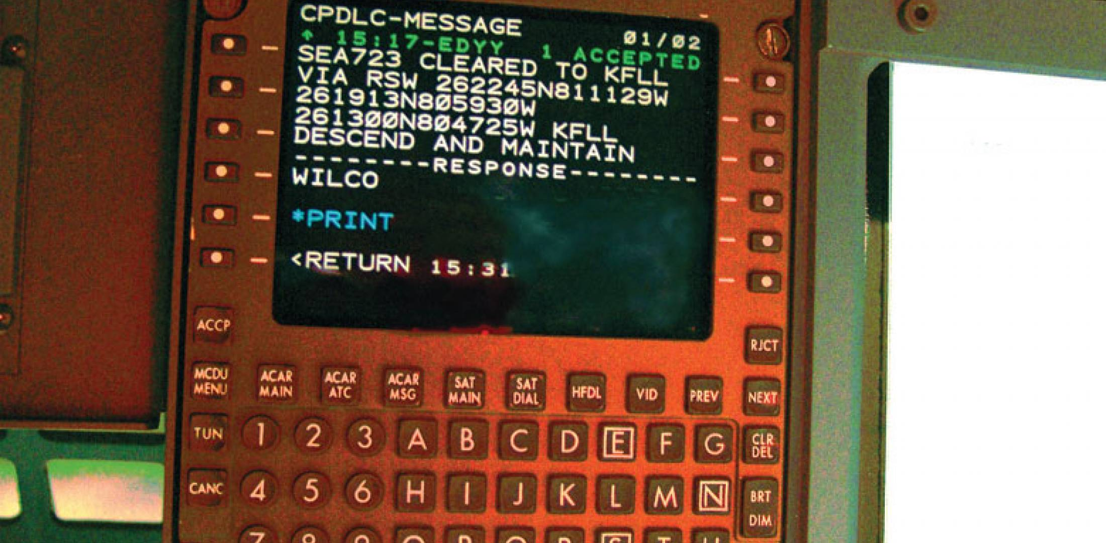 Rockwell Collins IDC-900