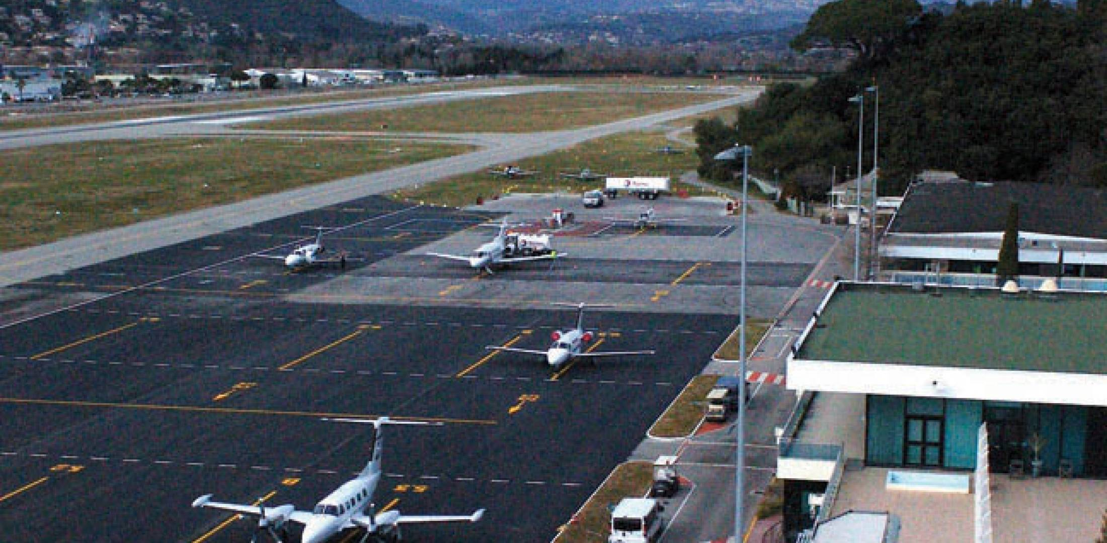 Cannes-Mandelieu Airport might become one of the first members of the Mediterranean Business Aviation Airports Association.