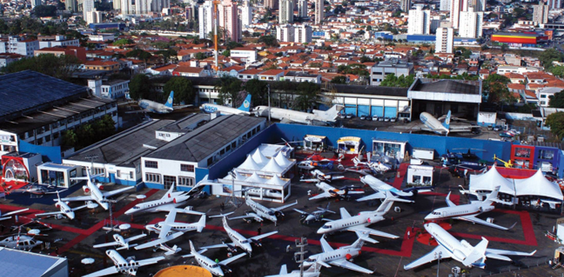 The Latin American Business Aviation Conference & Exhibition, held last year at Congonhas Airport, will be at the same venue in 2012 and organizers expect the site will be available again next year.