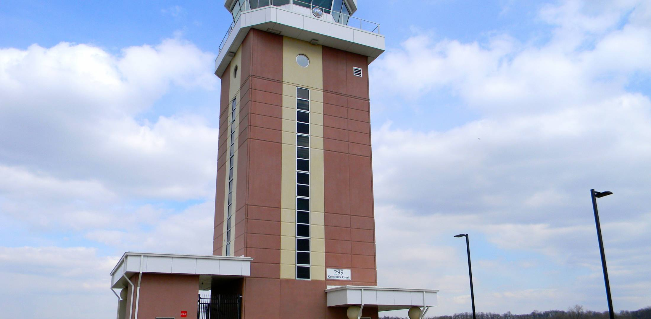 Frederick Municipal Airport ATC tower