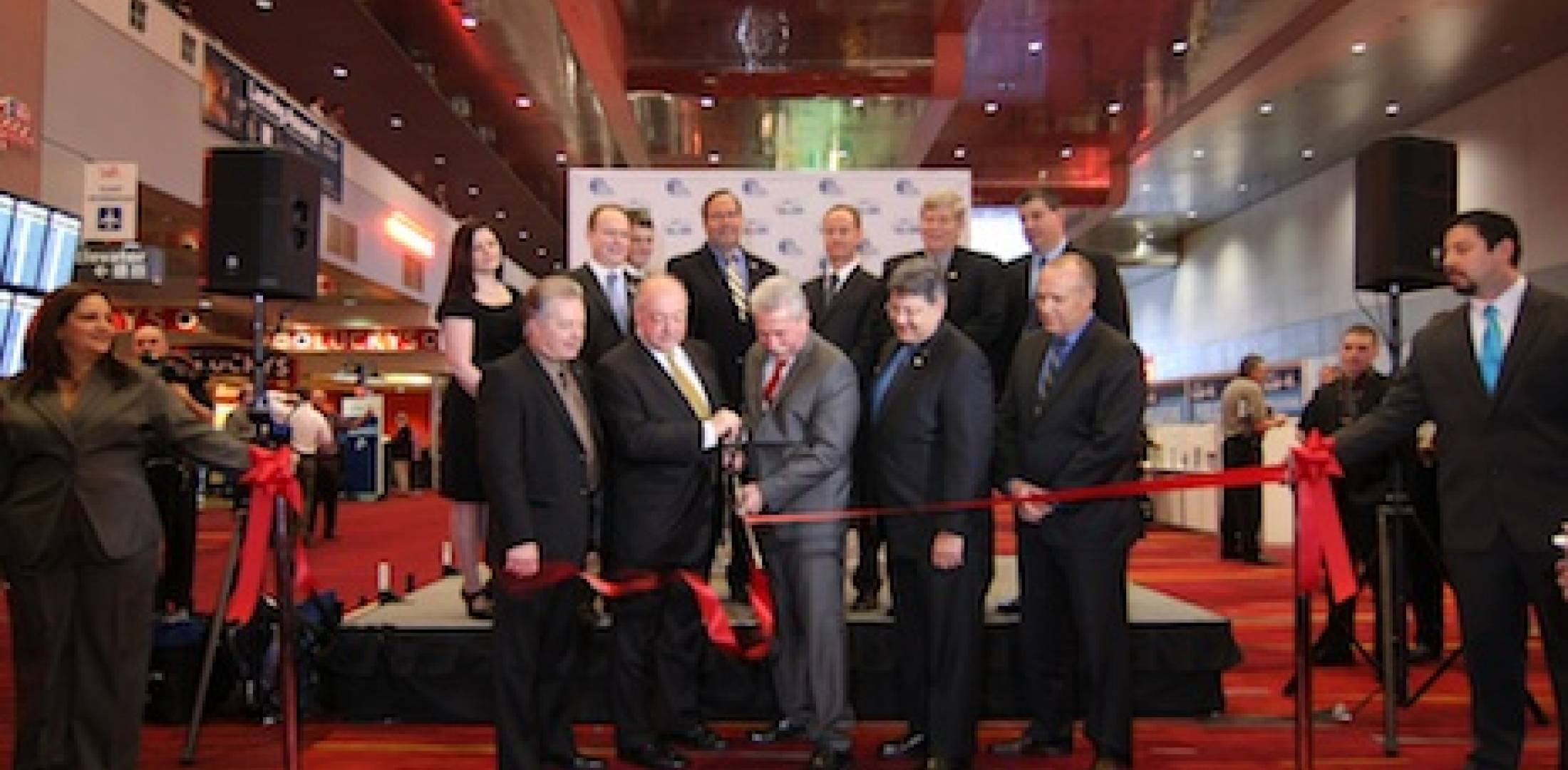 Heli-Expo 2013 ribbon cutting