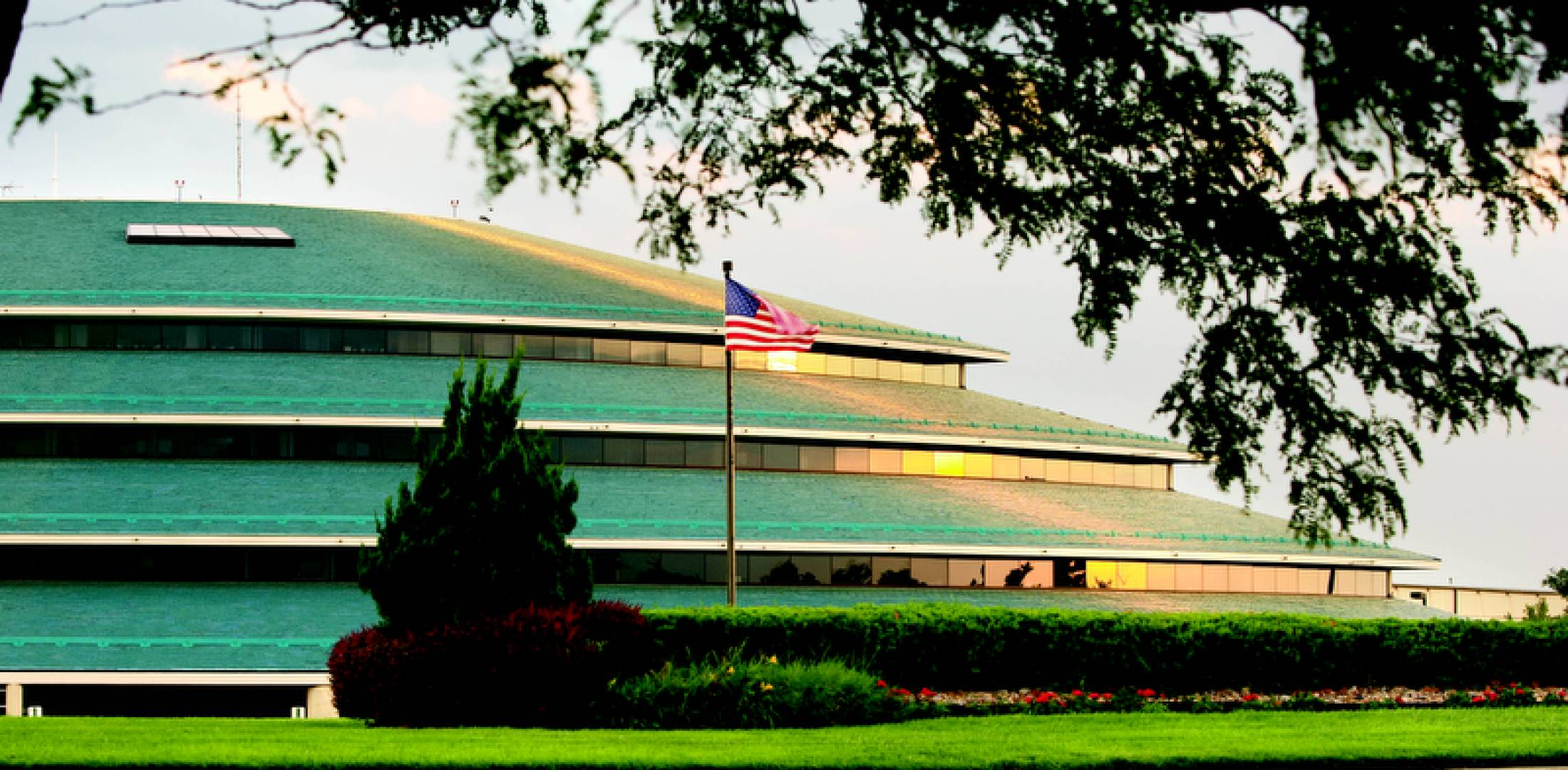 Hawker Beechcraft's headquarters in Wichita, Kansas.