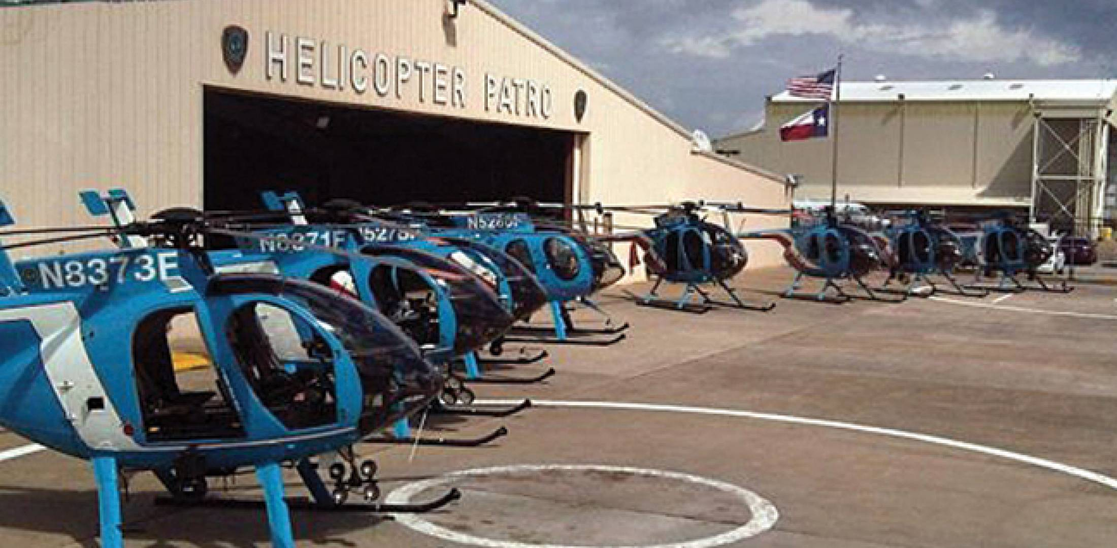 Houston police helicopters fly sparingly under the new dispatch model.