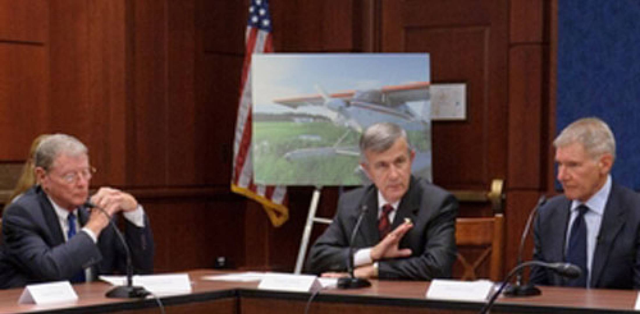 Inhofe and Ford discuss Pilots' Bill of Rights