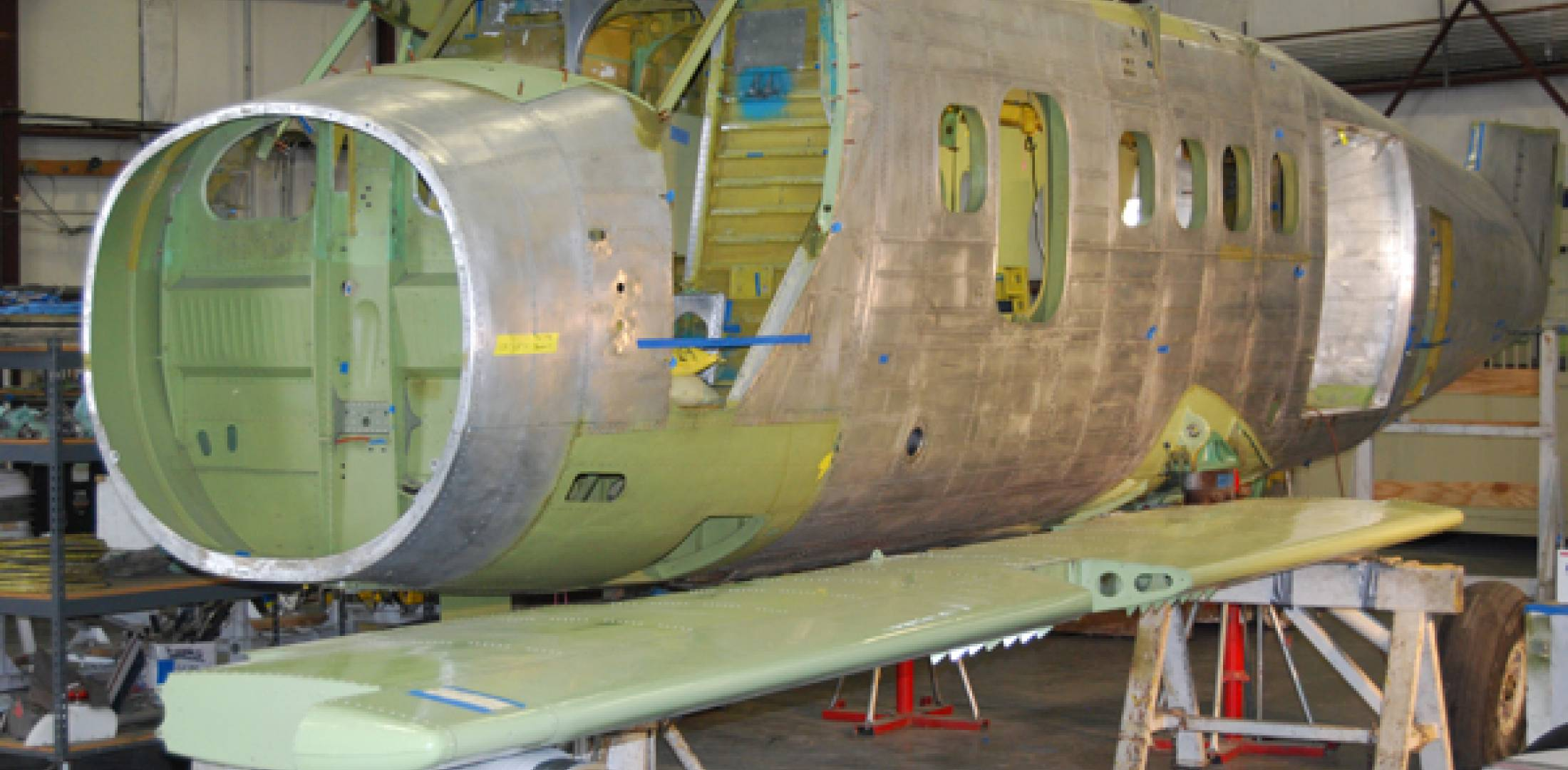 Ikhana offers a remanufactured Twin Otter fuselage with a new fatigue life of 65