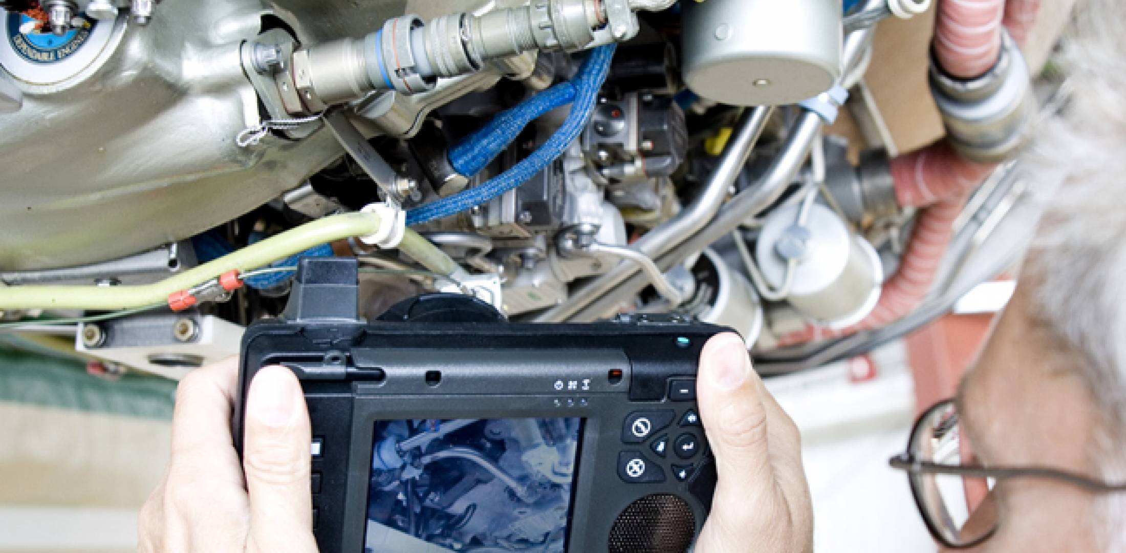 Librestream's Onsight mobile video device lets maintenance experts troubleshoot problems remotely.