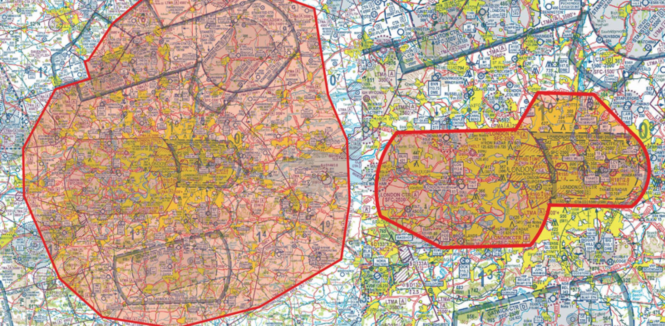 London Olympics 2012 restricted zones.