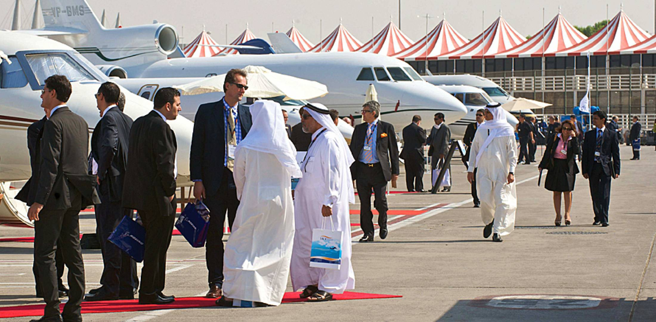 This year's Middle East Business Aviation show is enticing more participation...
