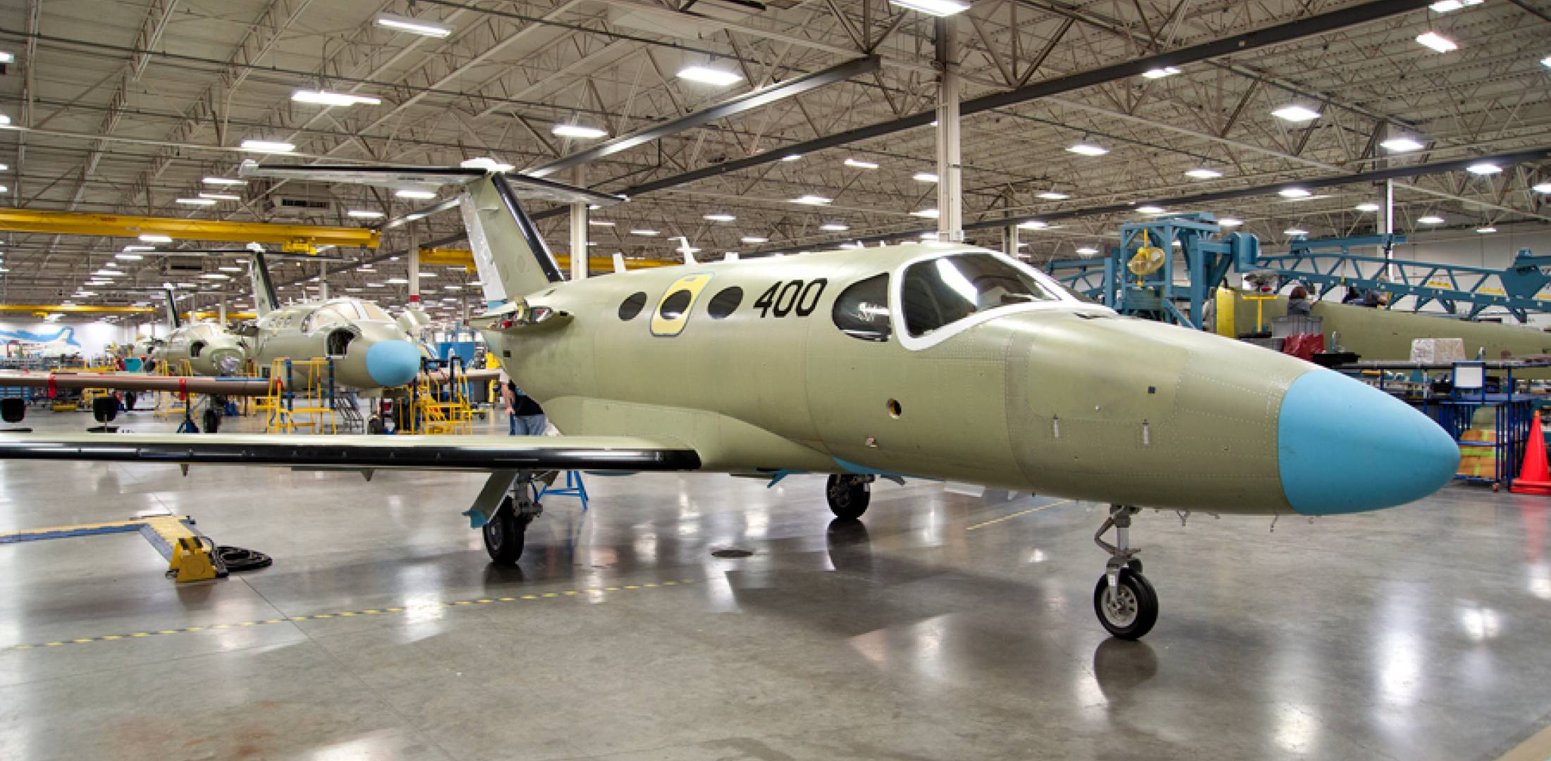 Cessna Marks Milestone with 400th Citation Mustang