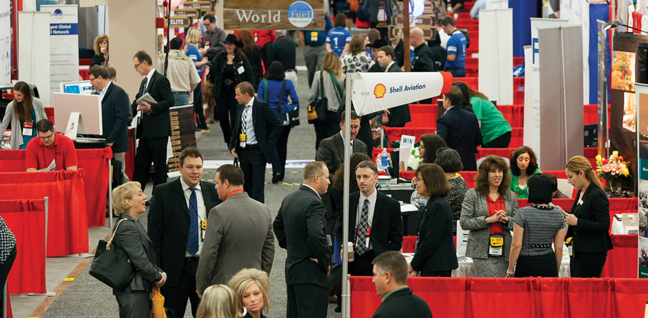 This year's conference ranked as the fourth highest in terms of attendance. It did set a new record for exhibitors with 425 FBOs and other flight support providers demonstrating their services to the flight department members who make up the majority of the conference's clientele.