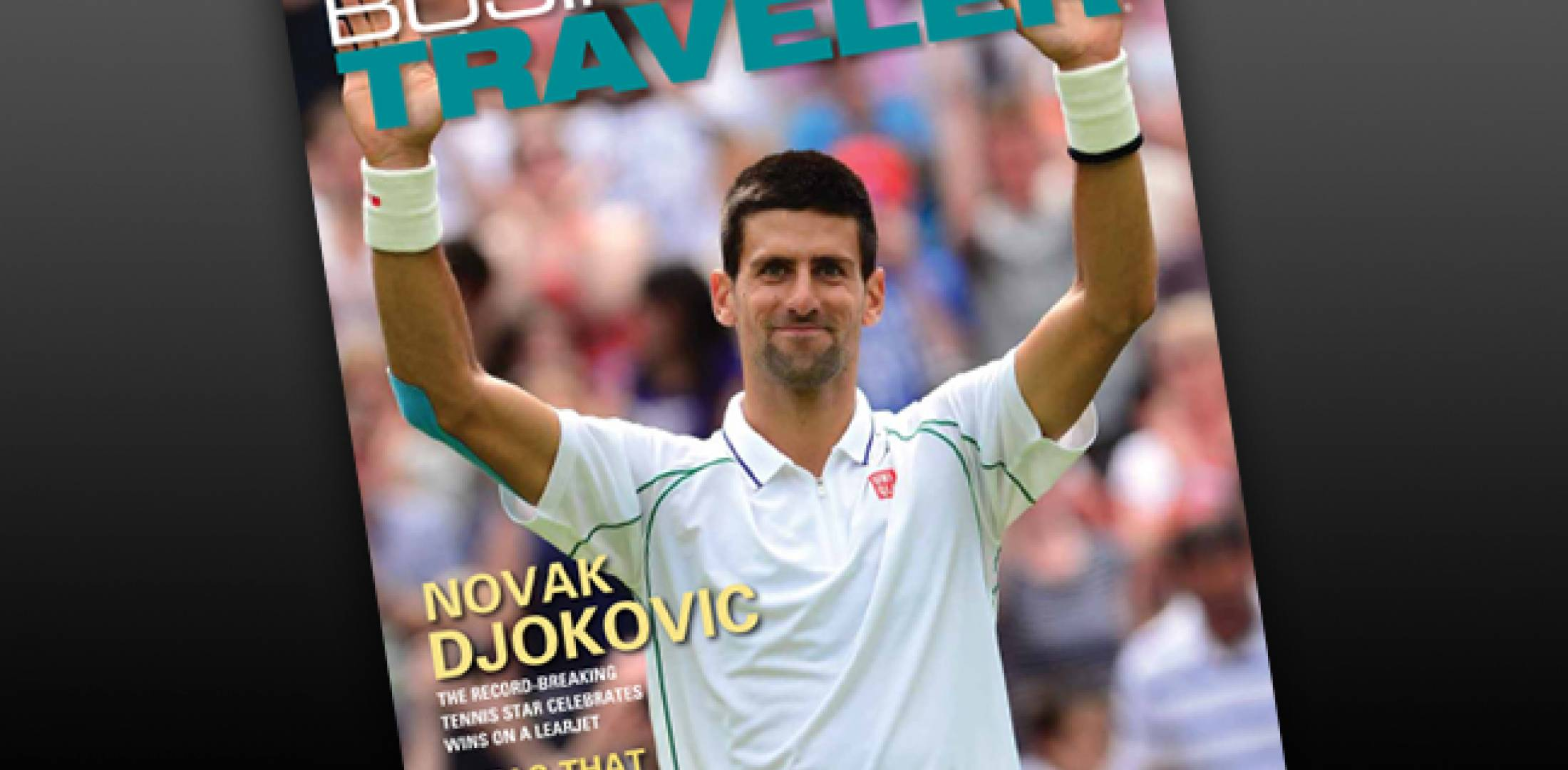 BJT cover subject Novak Djokovic
