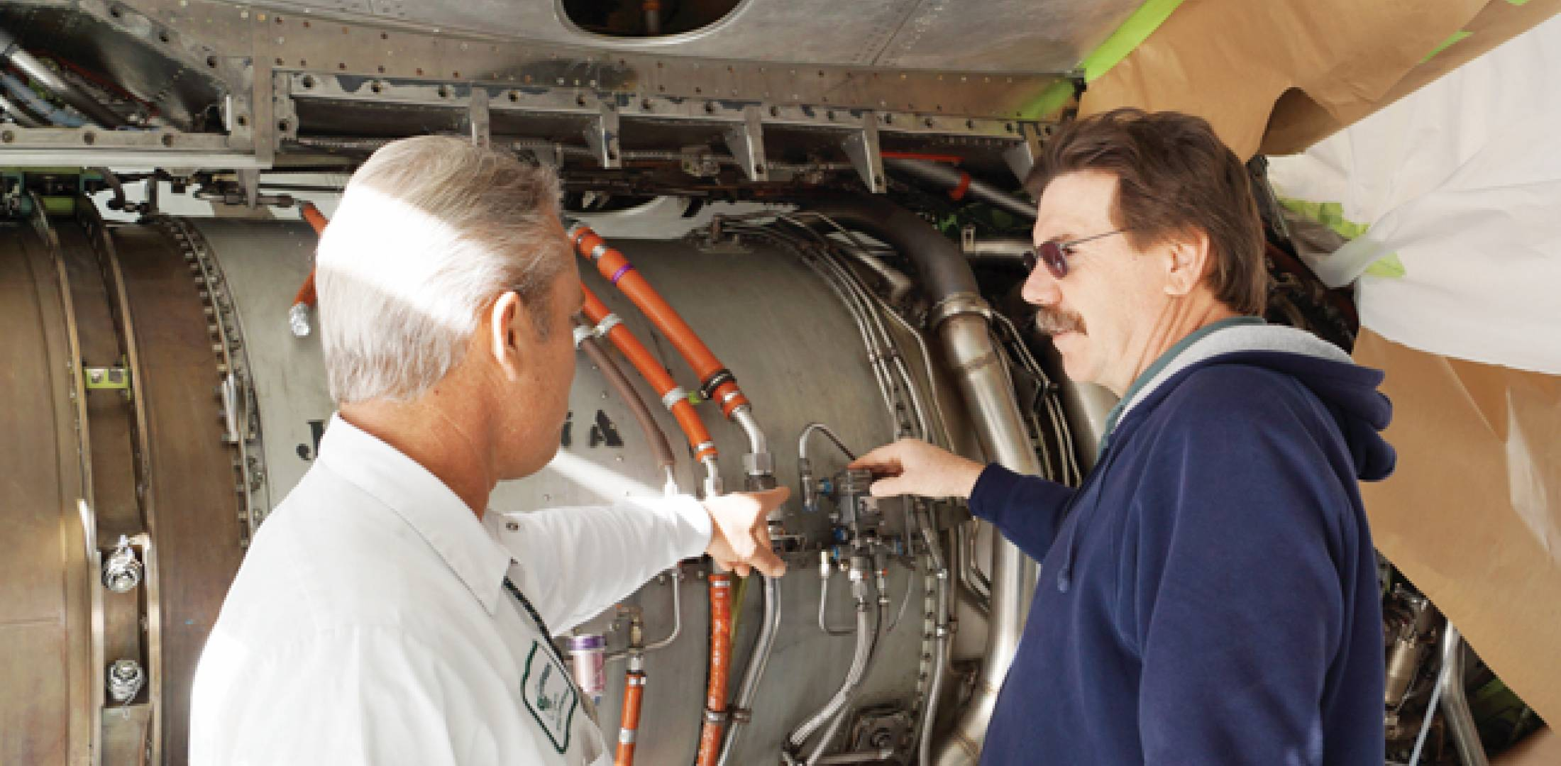 Newly rebranded Marana Aerospace Solutions provides airframe and powerplant maintenance, among other services.