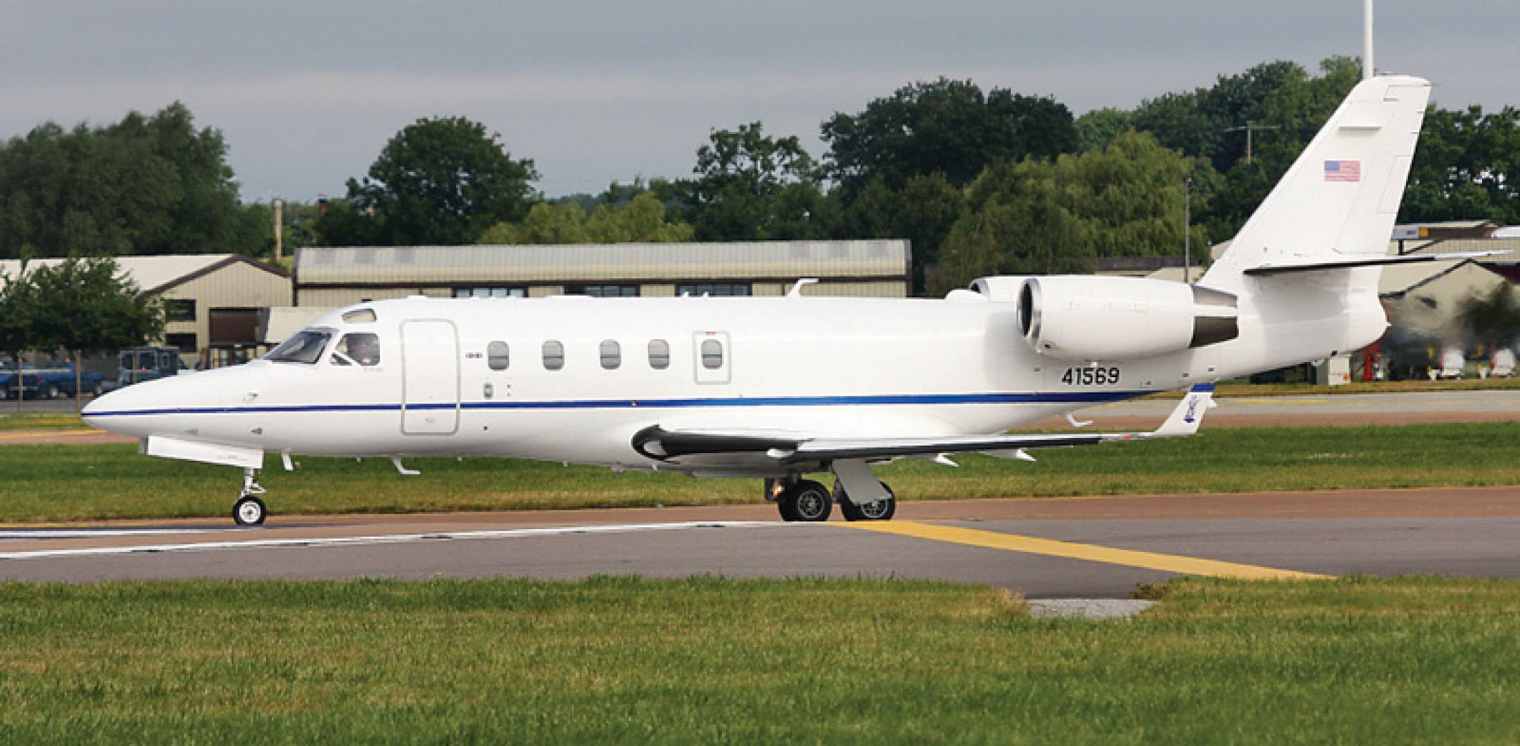 U.S. Air National Guard C-38 Courier VIP jet