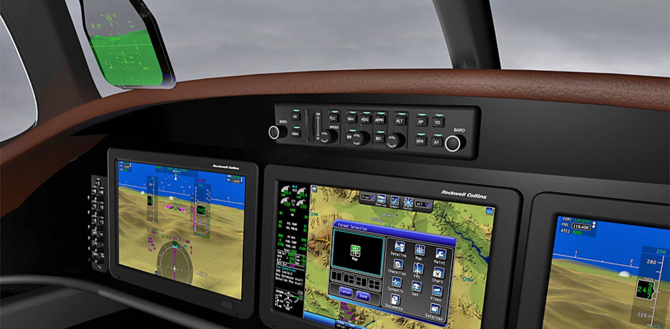 Rockwell Collins is introducing a version of its Pro Line Fusion for smaller air