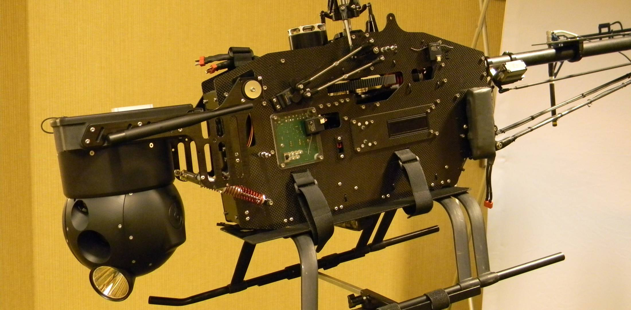 Tactical Electronics RAPTR small unmanned helicopter