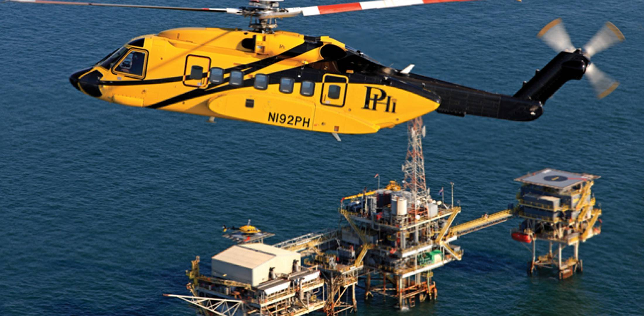 Offshore operator PHI worked with Sikorsky to design an automated rig approach for the S-92 to reduce pilot workload by eliminating manual flying in the intermediate stages of the approach.