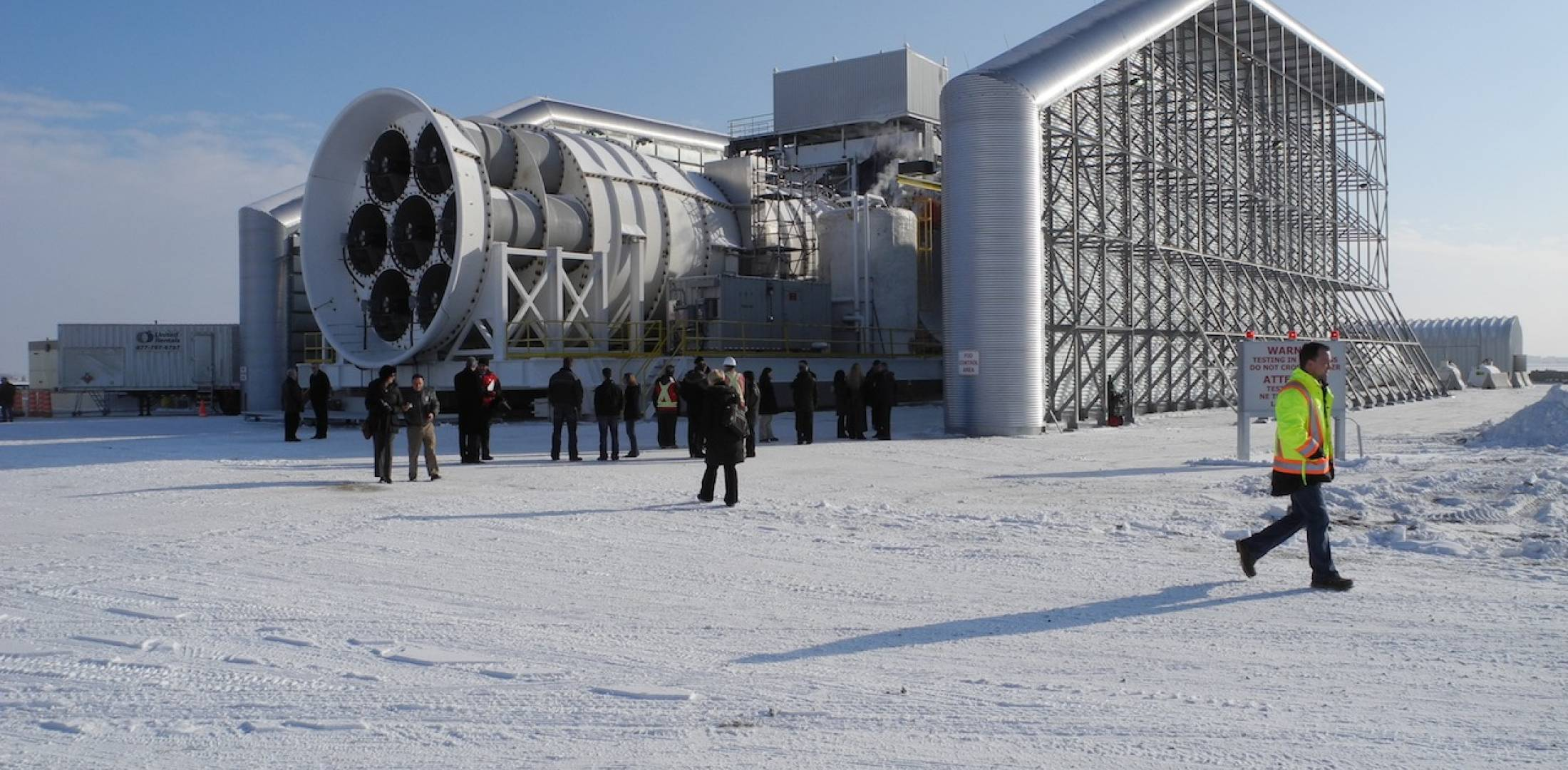GE icing test cell Winnipeg