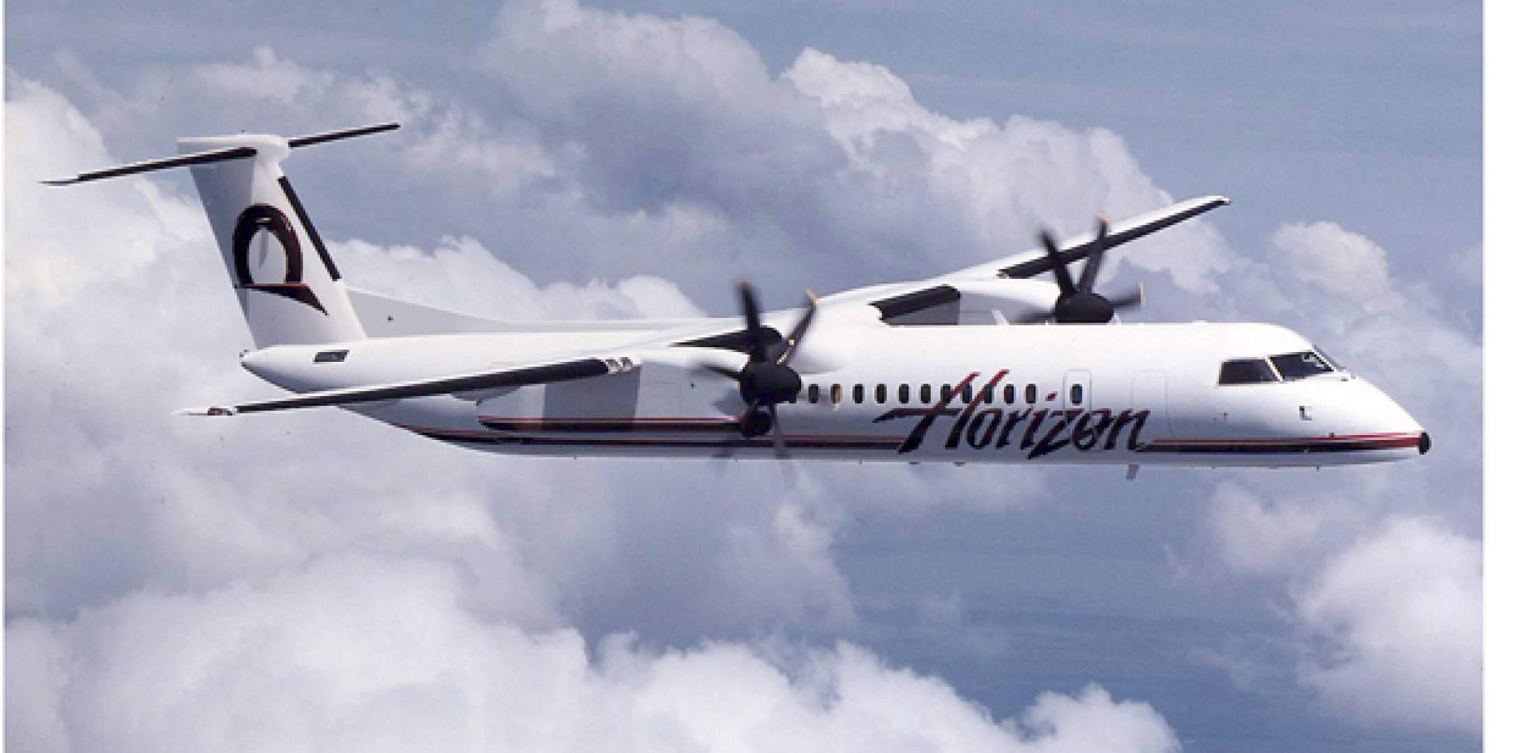 Horizon Air, sister company of Alaska Airlines, will operate select flights betw