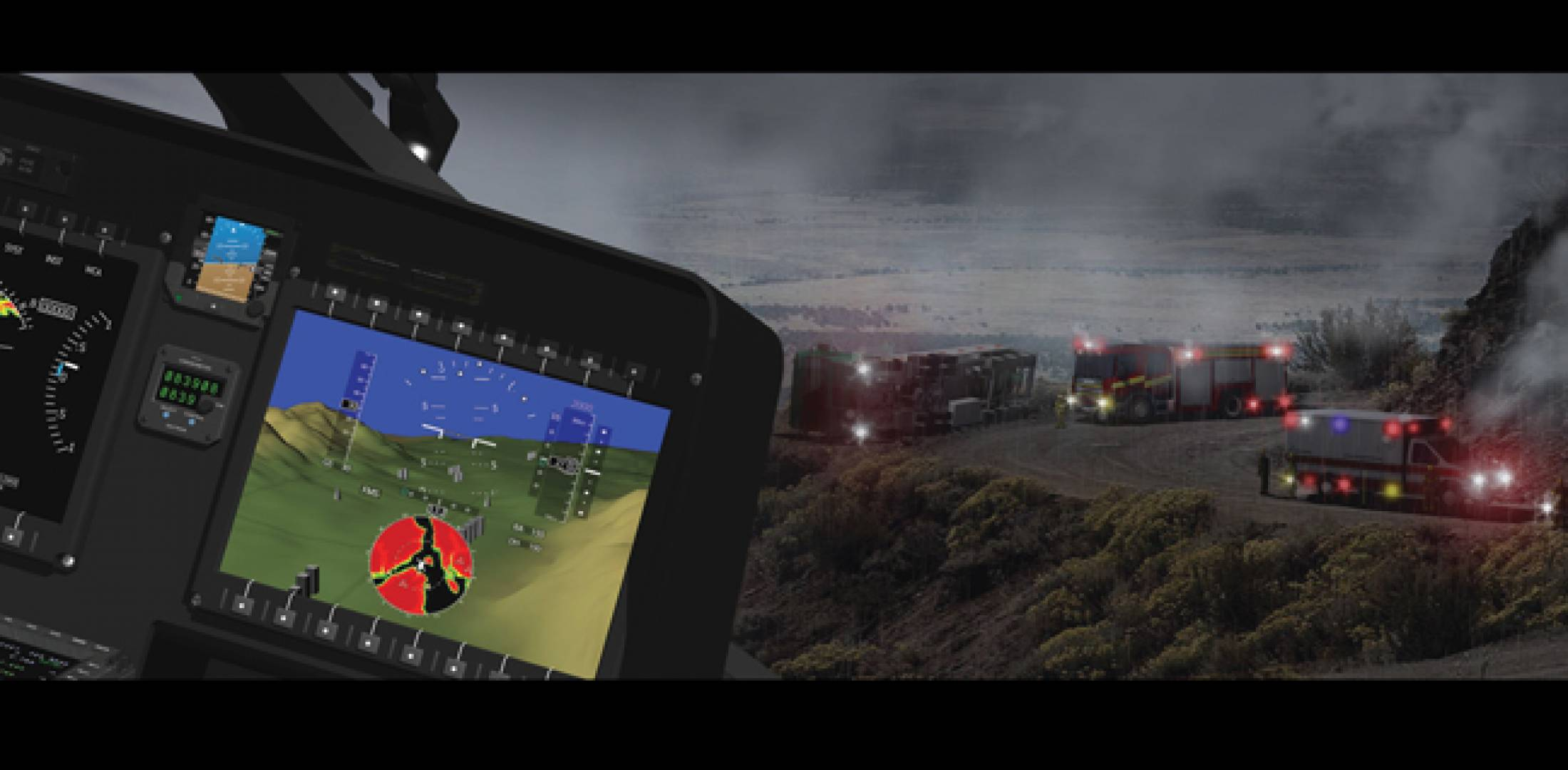 The new line of HeliSure helicopter synthetic vision and Taws products will appear first in AgustaWestland models.