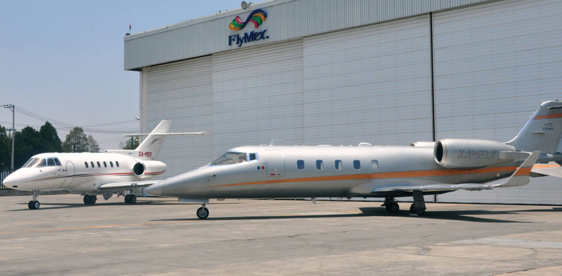 Mexico-based FlyMex recently joined the ranks of Wyvern-Wingman approved charter operators. Its fleet of six fixed-wing aircraft and one helicopter includes a Hawker 800 (left) and Bombardier Learjet 60.